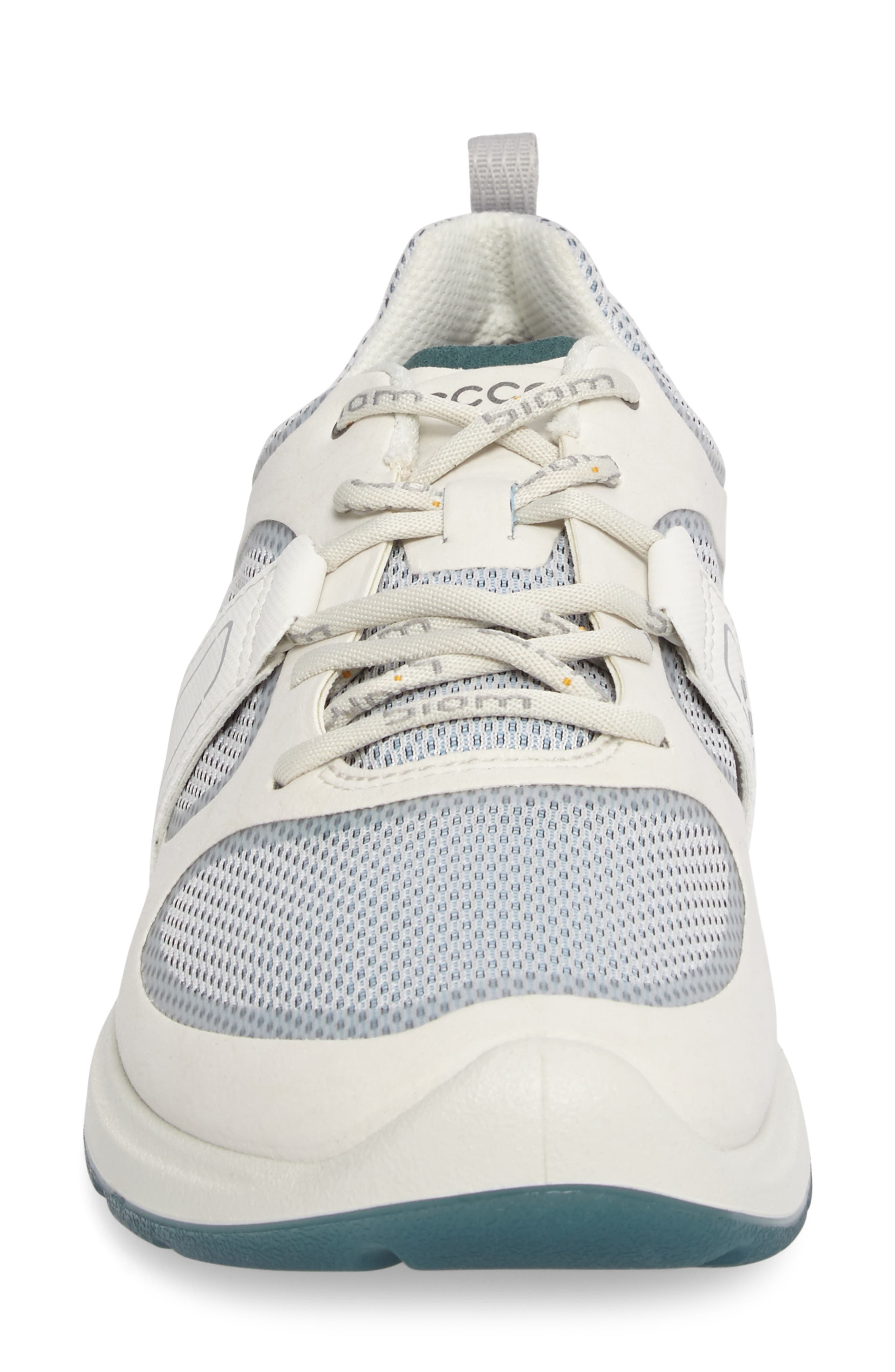 BIOM Amrap Sneaker,                             Alternate thumbnail 4, color,                             SHADOW WHITE LEATHER