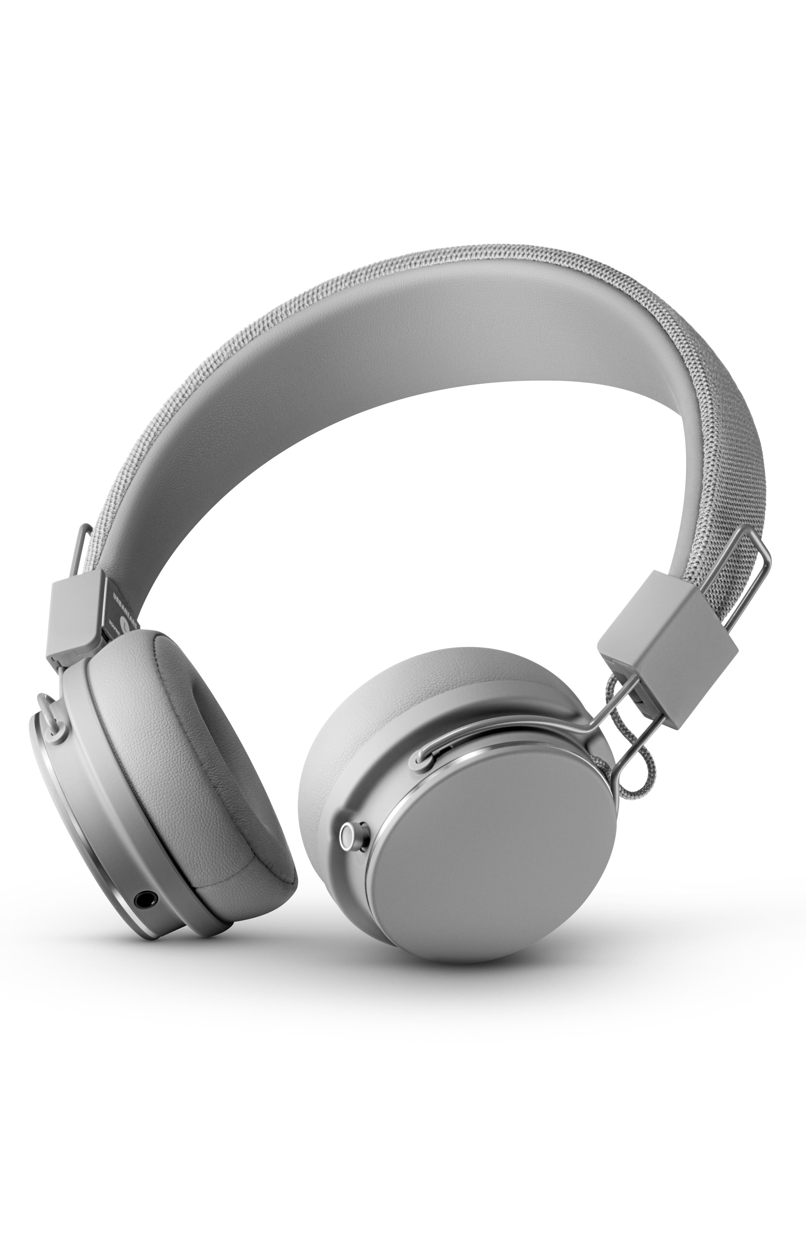 Plattan II Wireless Bluetooth Headphones, Main, color, GREY