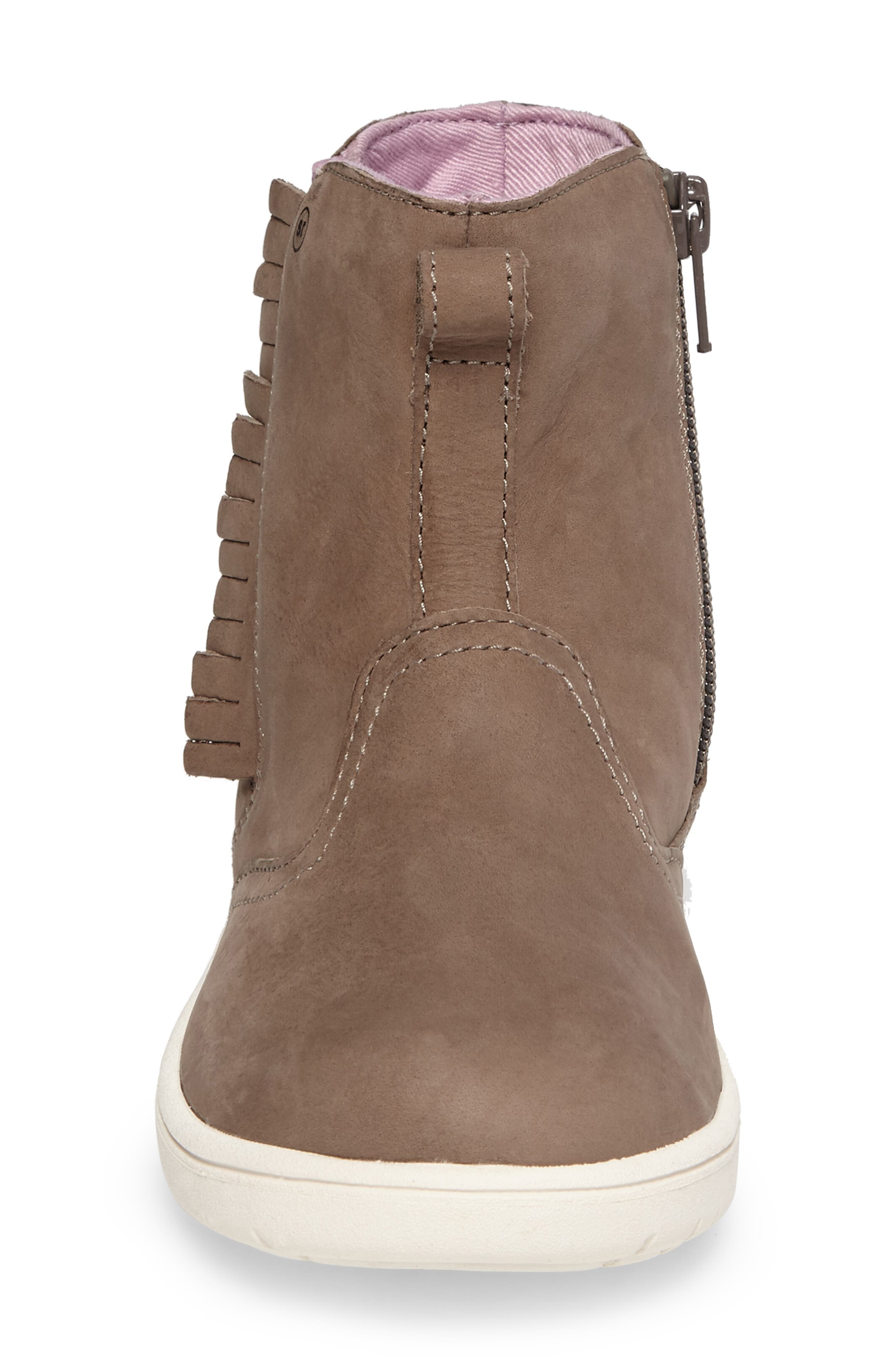 SRtech<sup>™</sup> Maxine Fringed Bootie,                             Alternate thumbnail 4, color,