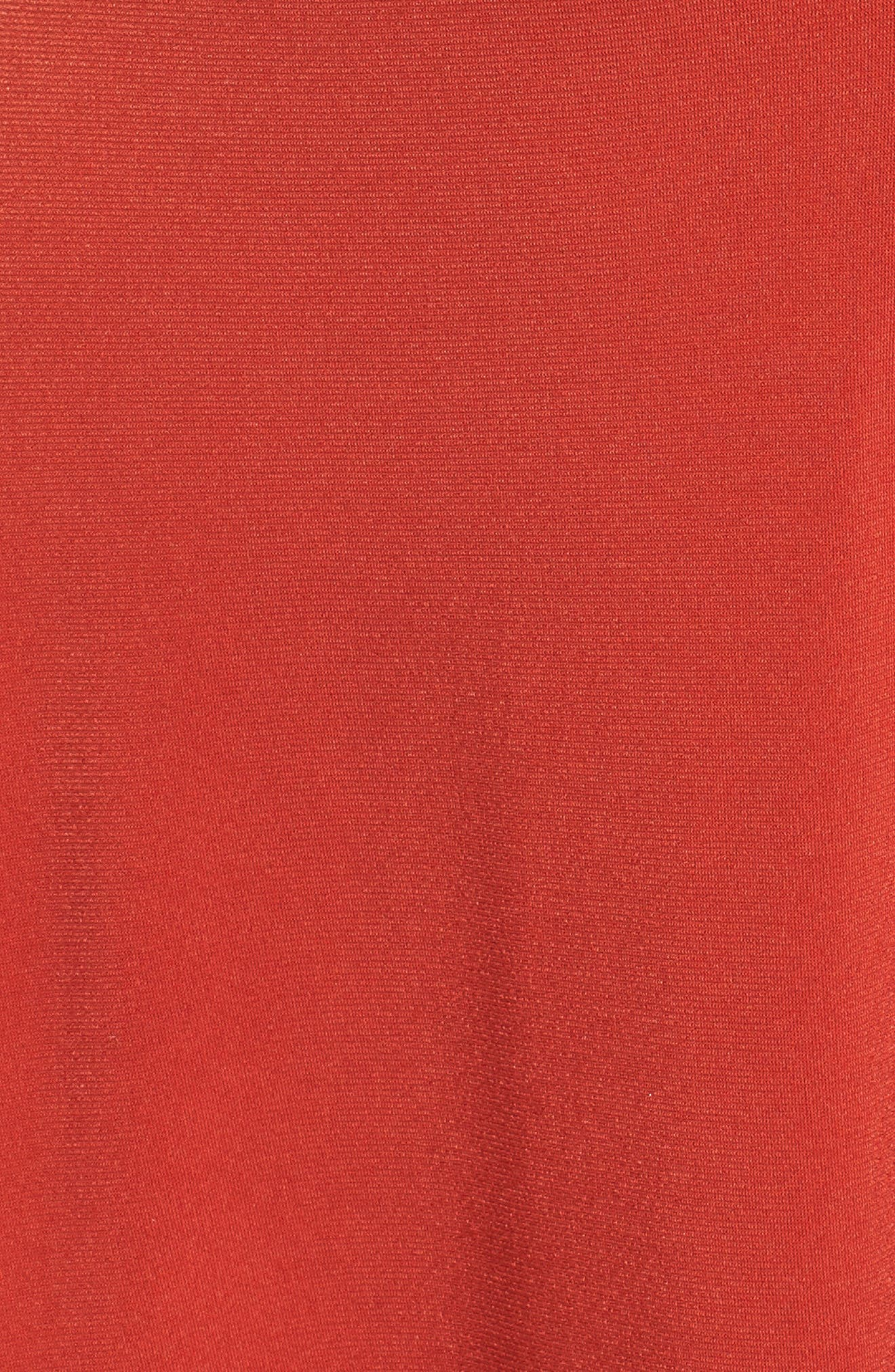 Cinch Front Dress,                             Alternate thumbnail 5, color,                             610