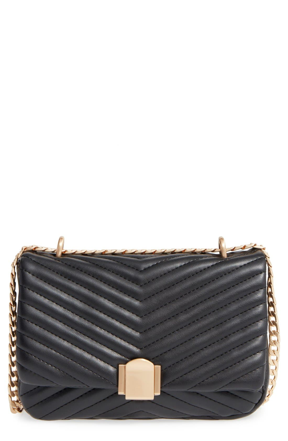 Quilted Crossbody Bag,                         Main,                         color,