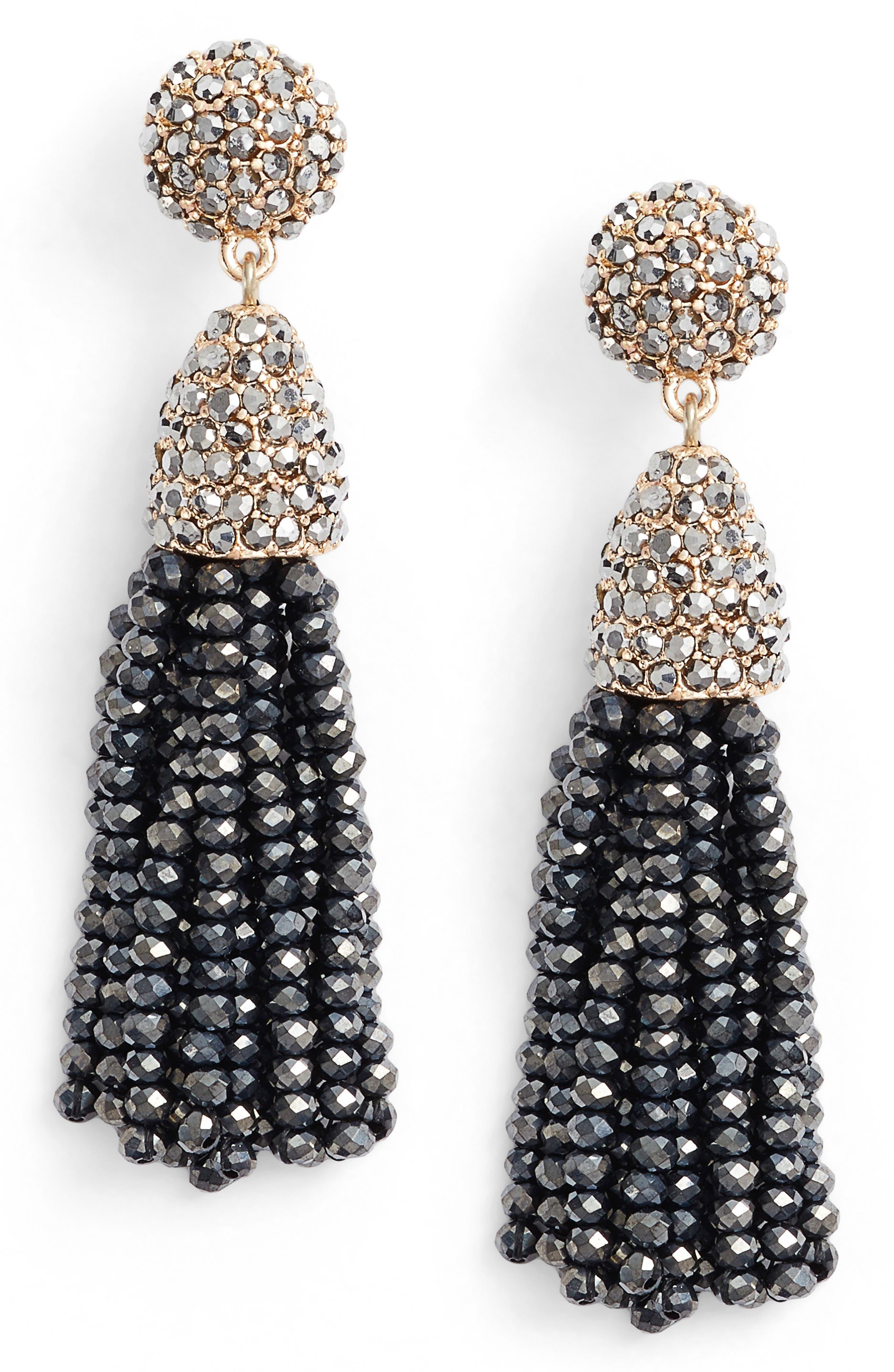 BAUBLEBAR Mini Metallic Pinata Statement Earrings, Main, color, 040