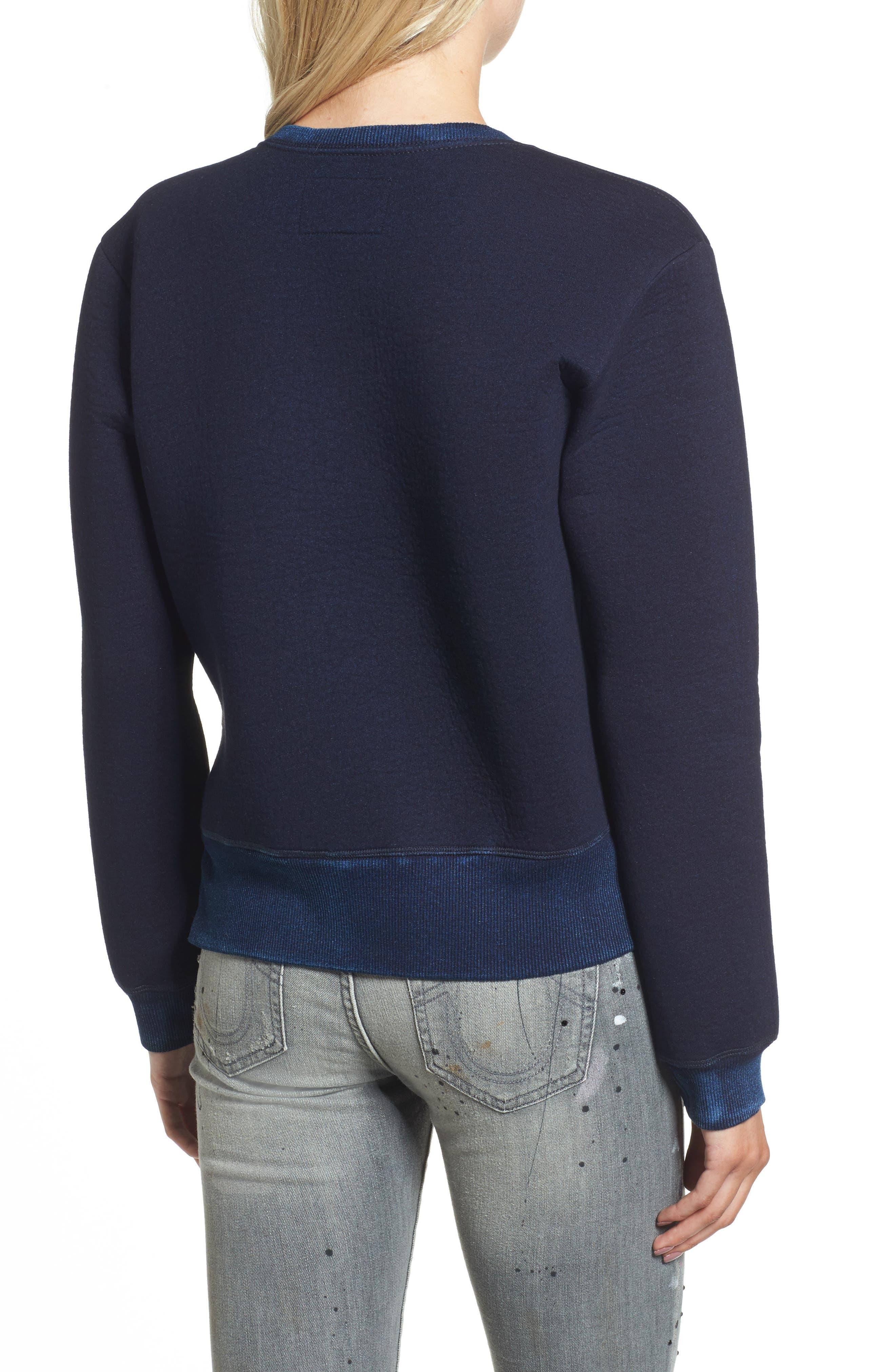 Neoprene Sweatshirt,                             Alternate thumbnail 2, color,                             400