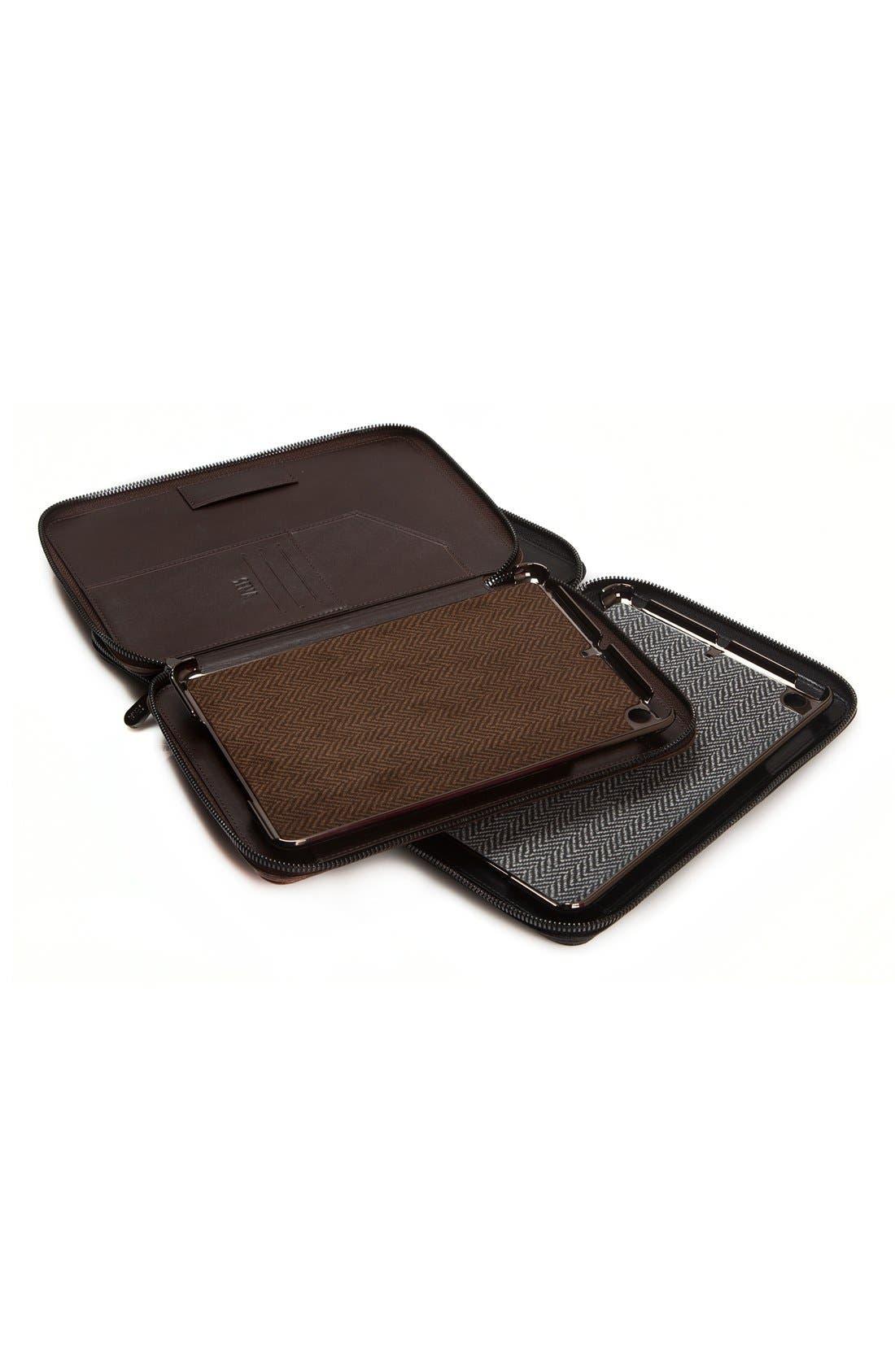 'Heritage' iPad mini Zip Case,                             Alternate thumbnail 5, color,