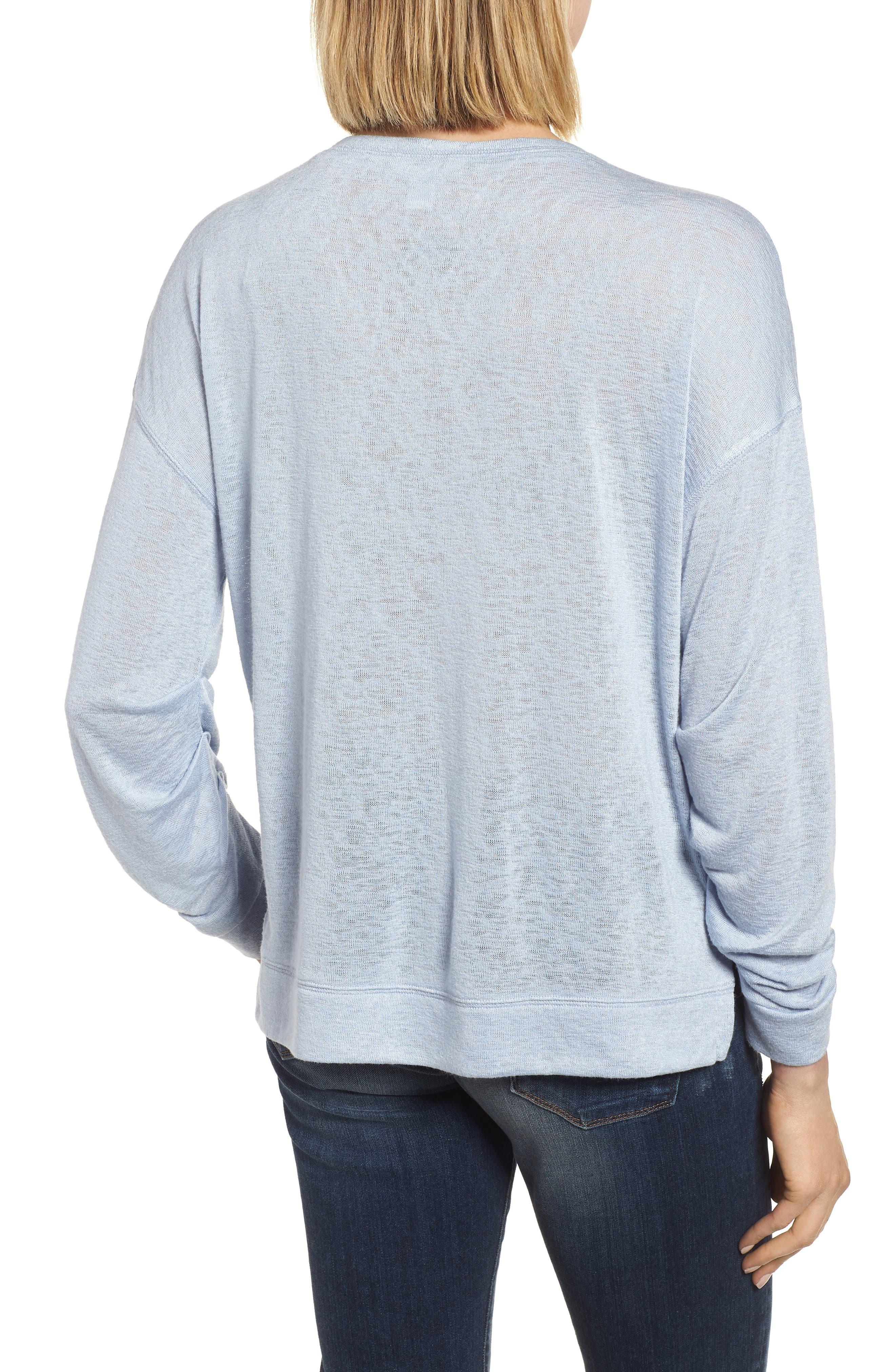 Tuck Sleeve Sweatshirt,                             Alternate thumbnail 12, color,