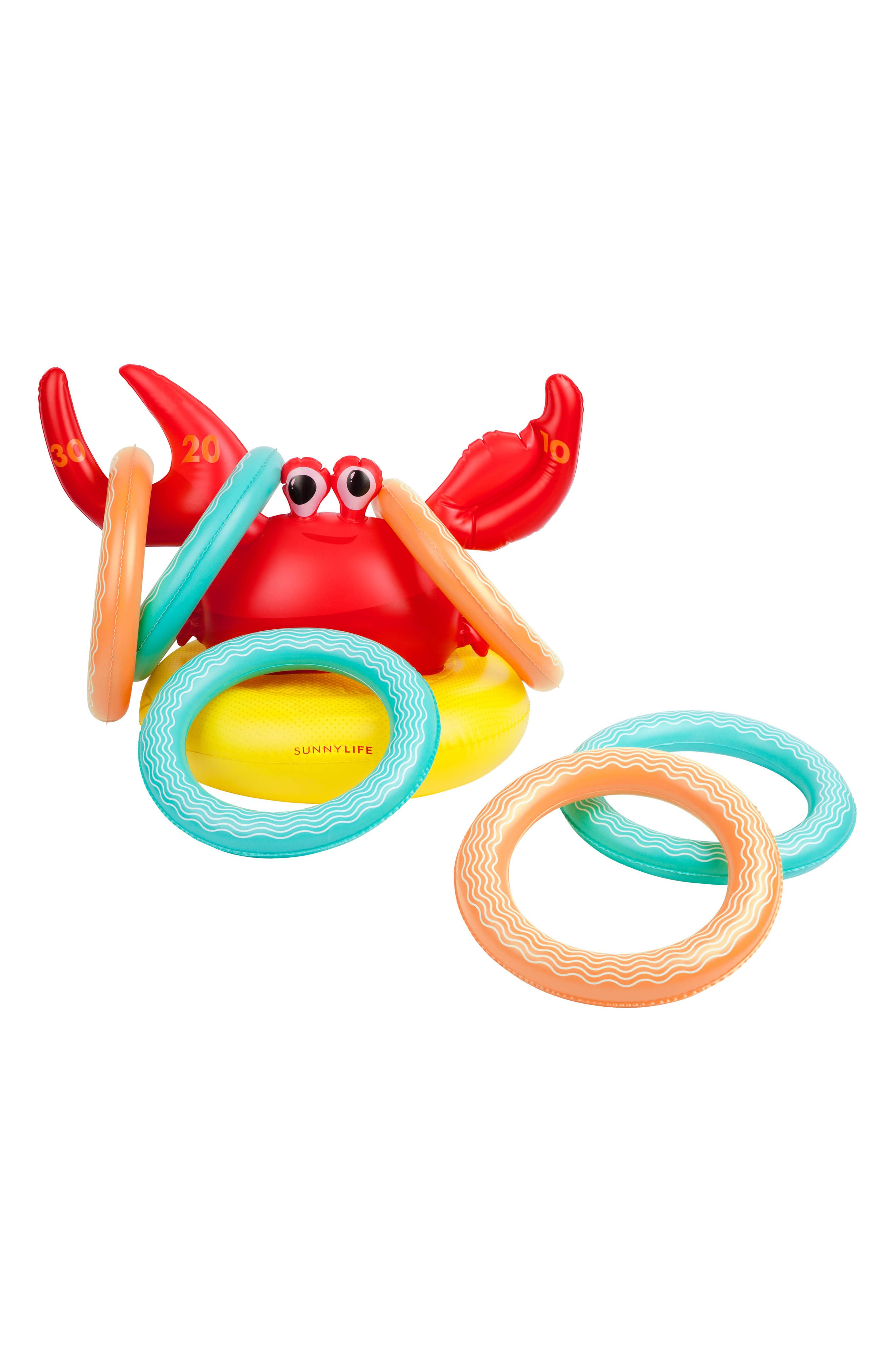 Inflatable Crab 7-Piece Ring Toss Game,                             Alternate thumbnail 4, color,                             600