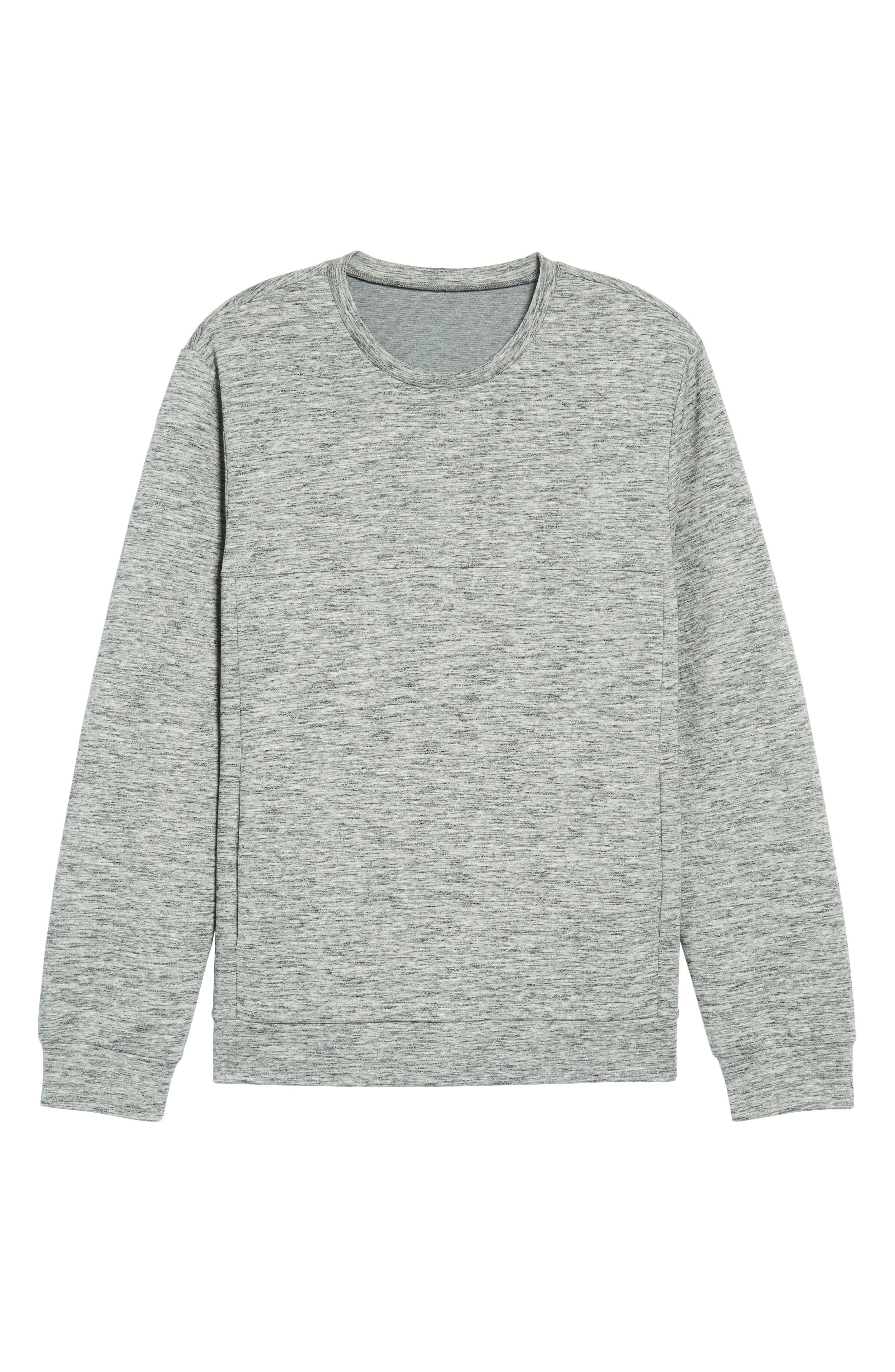 Space Dyed Sweatshirt,                             Alternate thumbnail 6, color,                             030