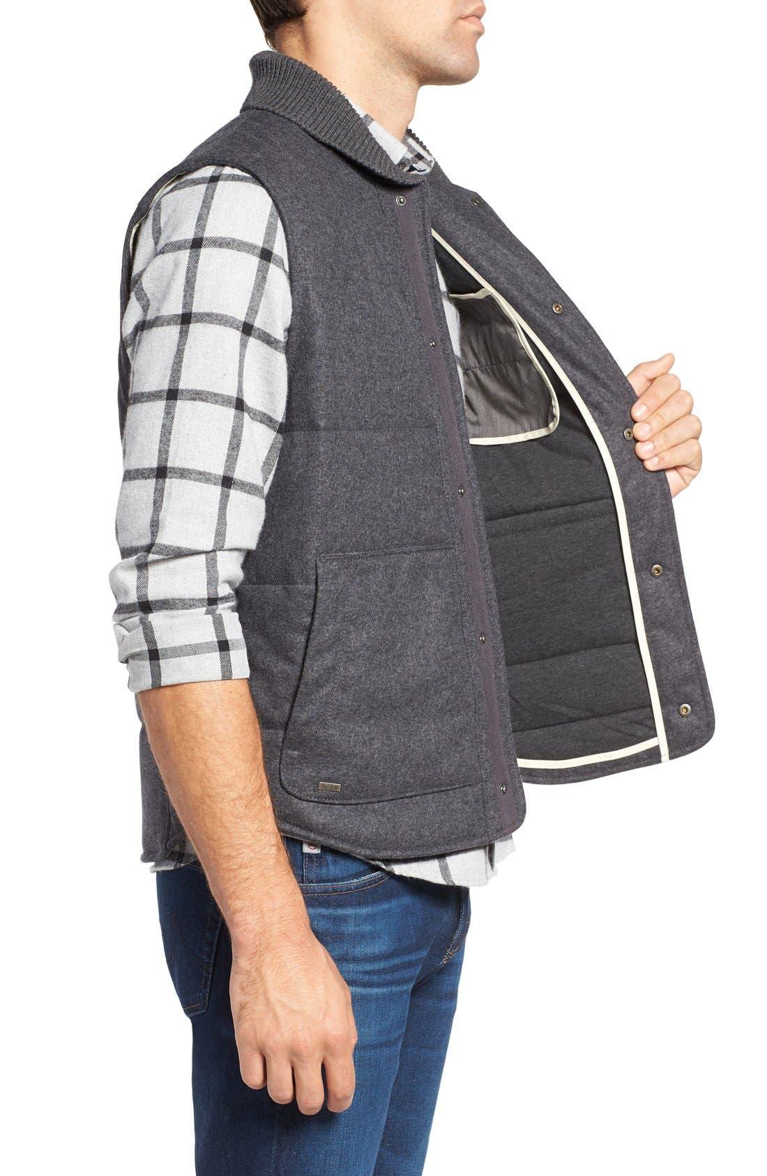 Pritchel Quilted Vest,                             Alternate thumbnail 3, color,                             010