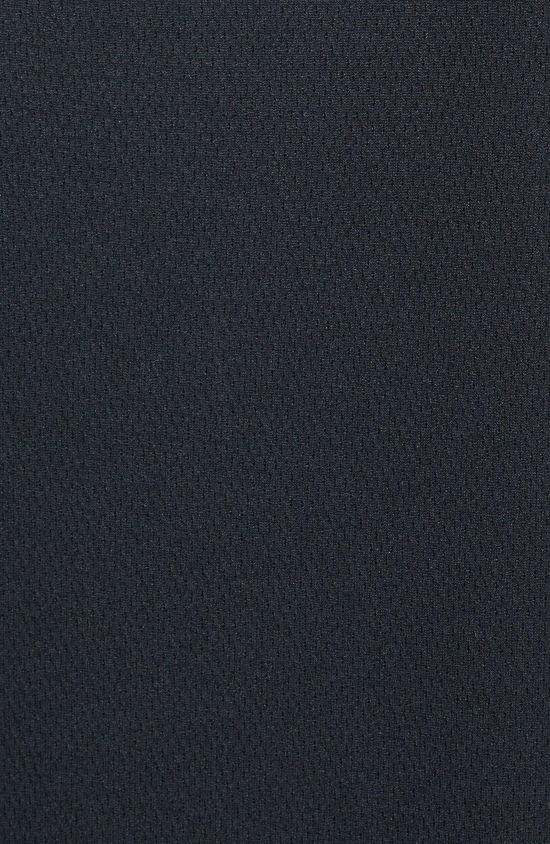 Baltimore Ravens - Edge DryTec Moisture Wicking Half Zip Pullover,                             Alternate thumbnail 3, color,                             001