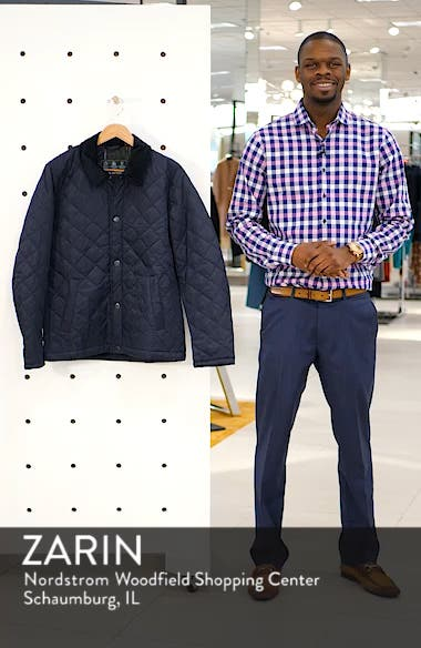Holme Quilted Water-Resistant Jacket, sales video thumbnail