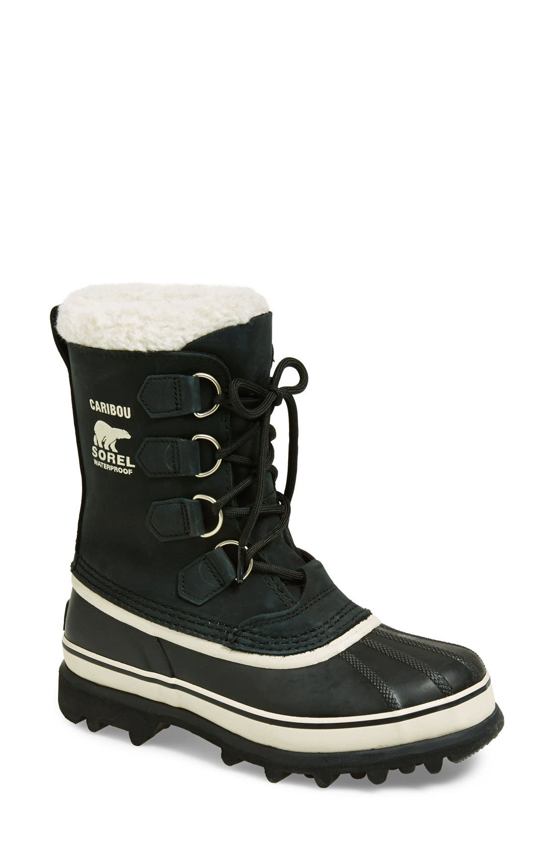 SOREL 'Caribou' Boot, Main, color, 011