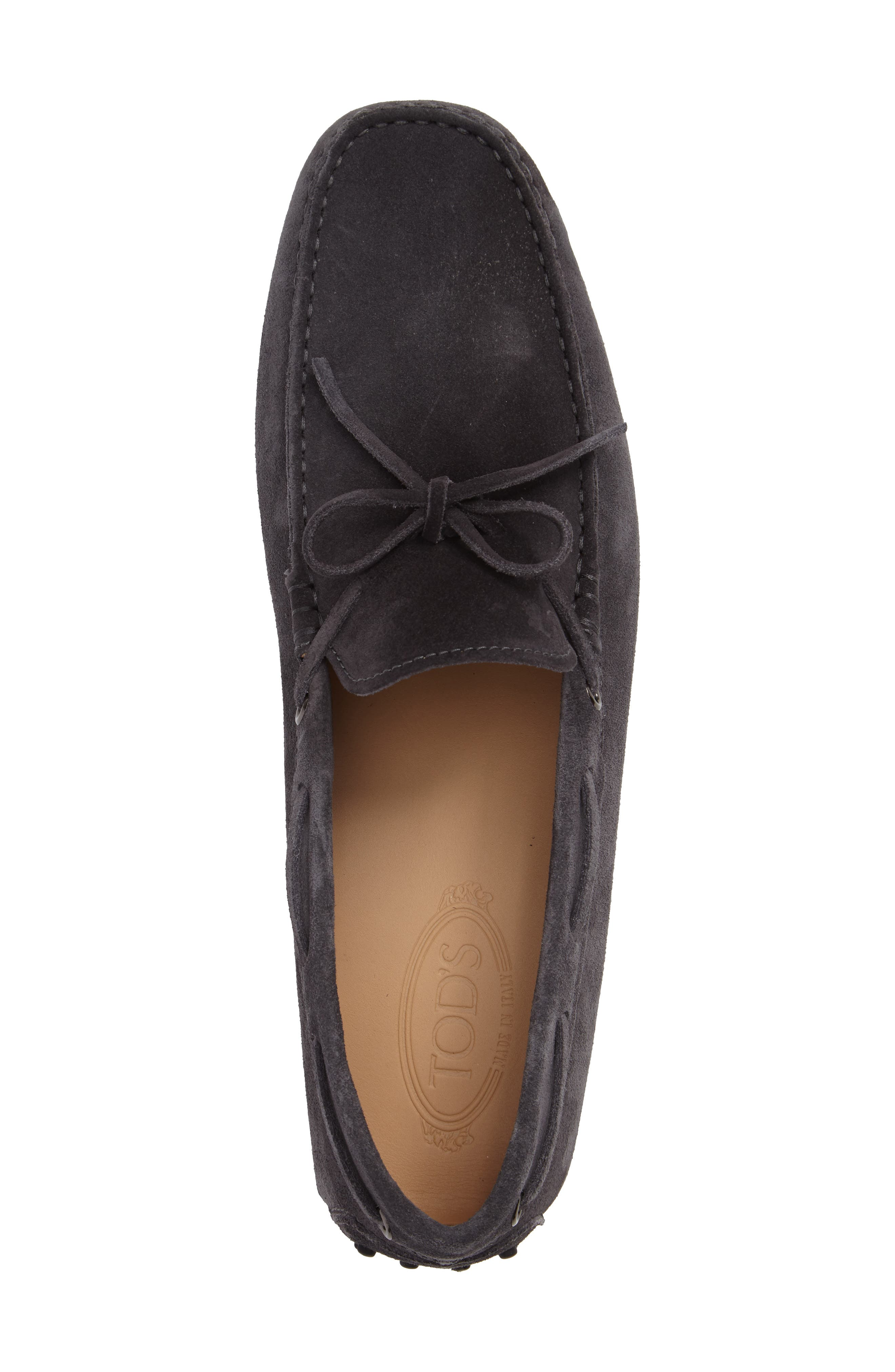 Gommini Tie Front Driving Moccasin,                             Alternate thumbnail 72, color,
