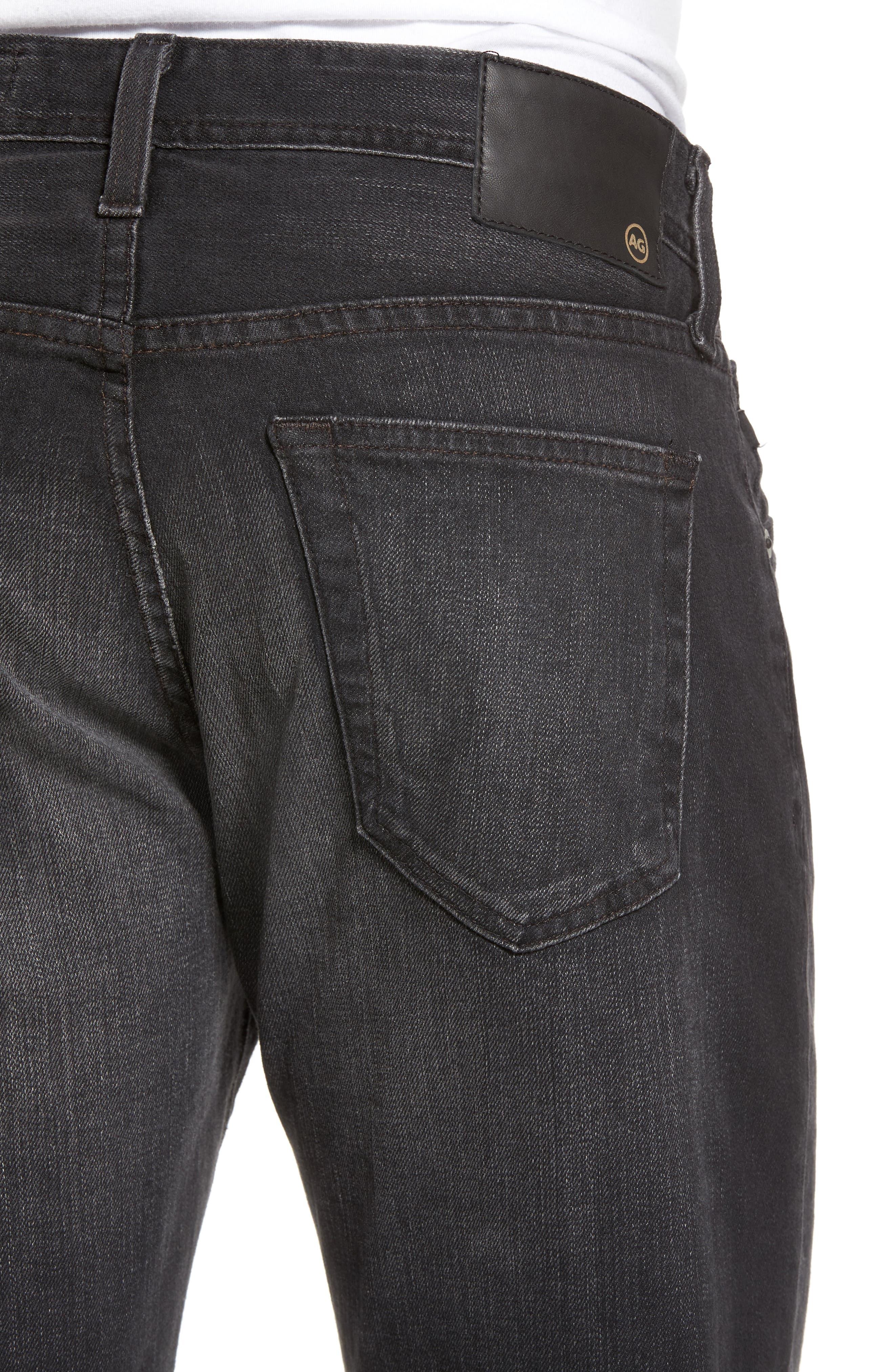 Tellis Modern Slim Fit Jeans,                             Alternate thumbnail 4, color,                             019