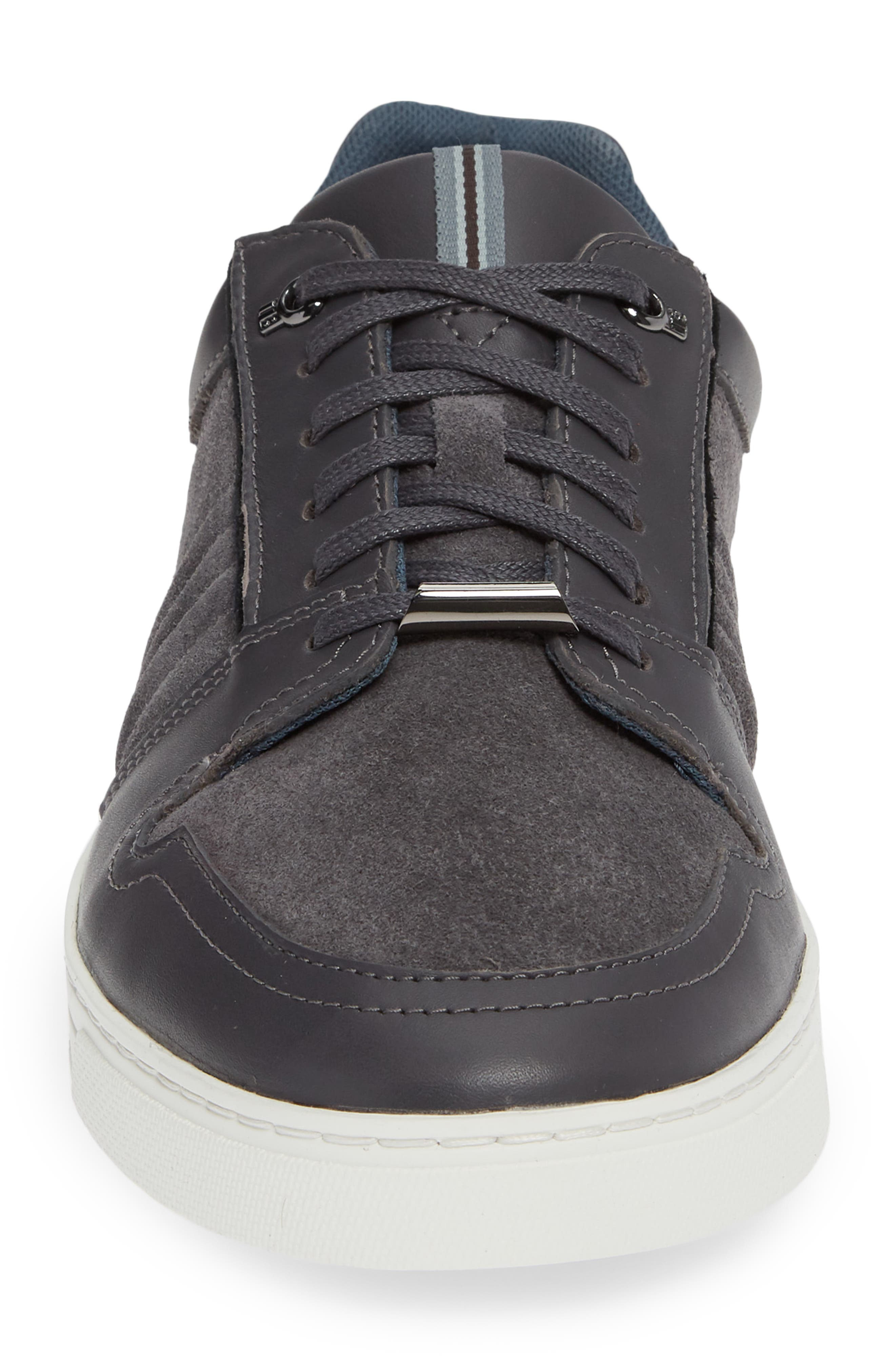 Kalhan Sneaker,                             Alternate thumbnail 4, color,                             DARK GREY