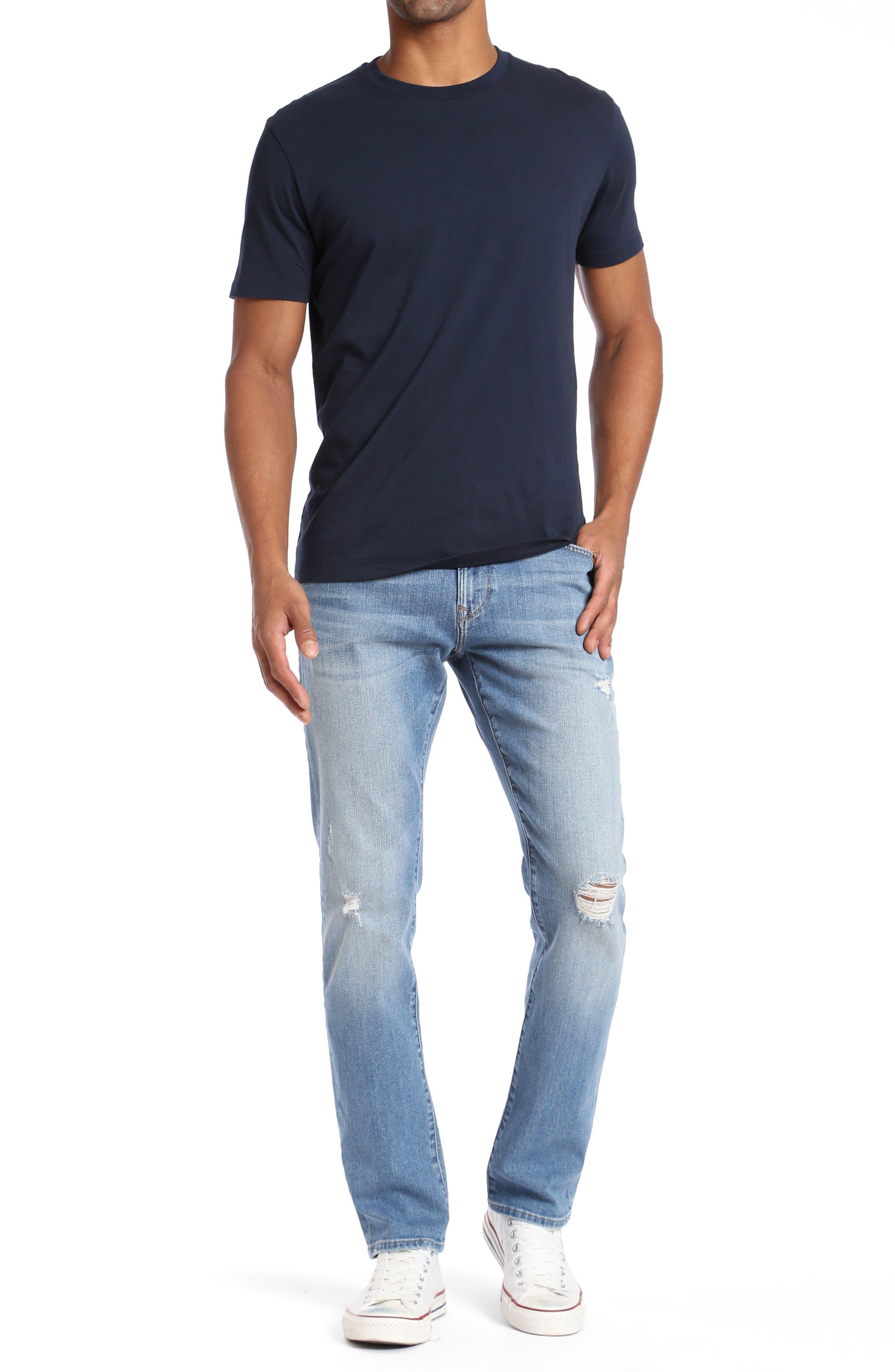 Marcus Slim Straight Leg Jeans,                             Alternate thumbnail 4, color,