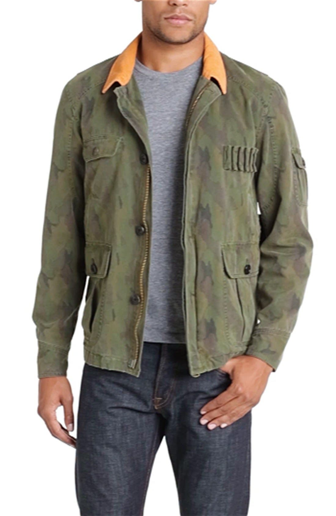 'Upland' Hunting Jacket,                             Alternate thumbnail 4, color,                             300