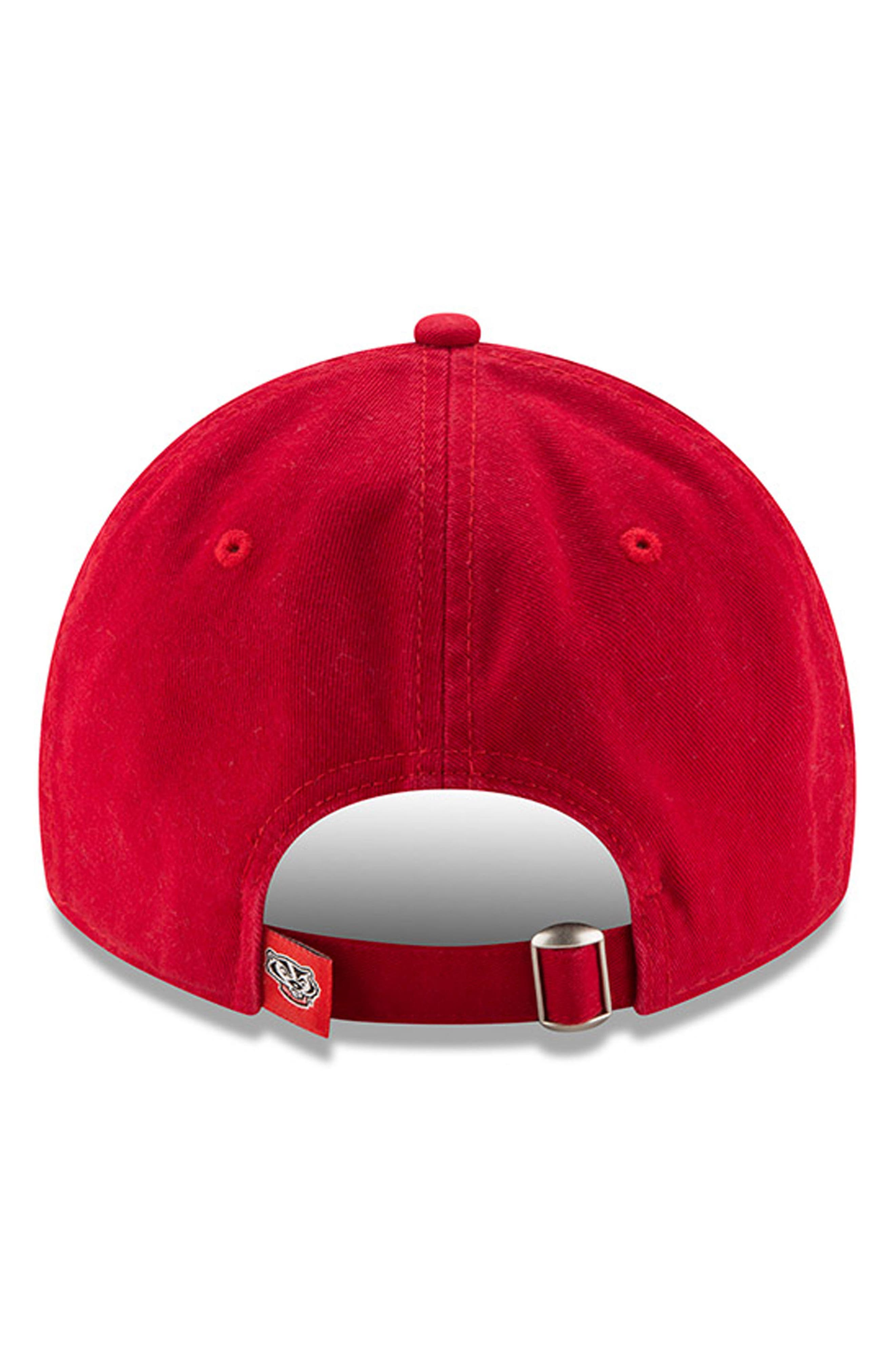 New Era Collegiate Core Classic - Wisconsin Badgers Baseball Cap,                             Alternate thumbnail 3, color,                             600