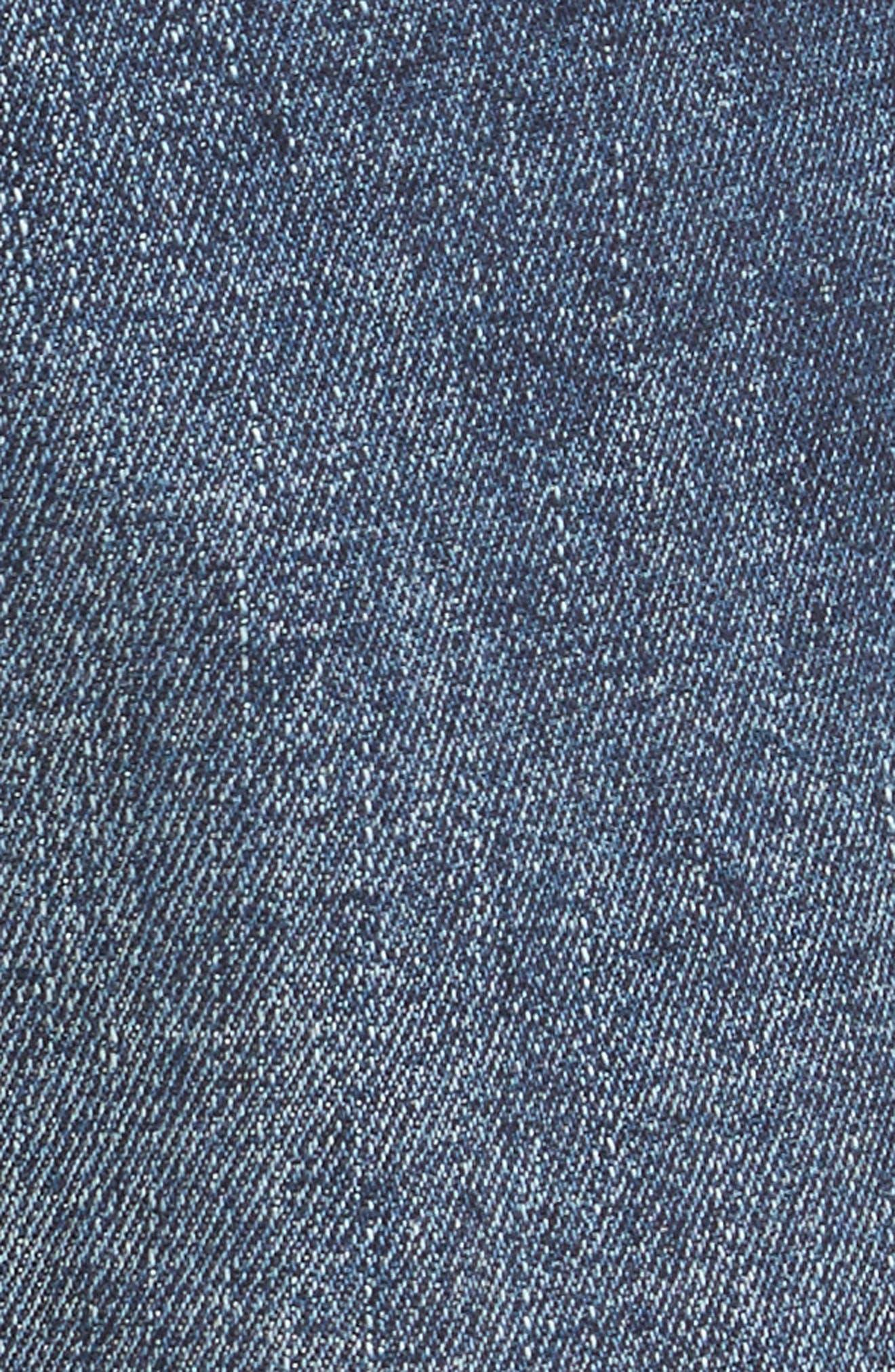 Russell Slim Straight Leg Jeans,                             Alternate thumbnail 5, color,                             405