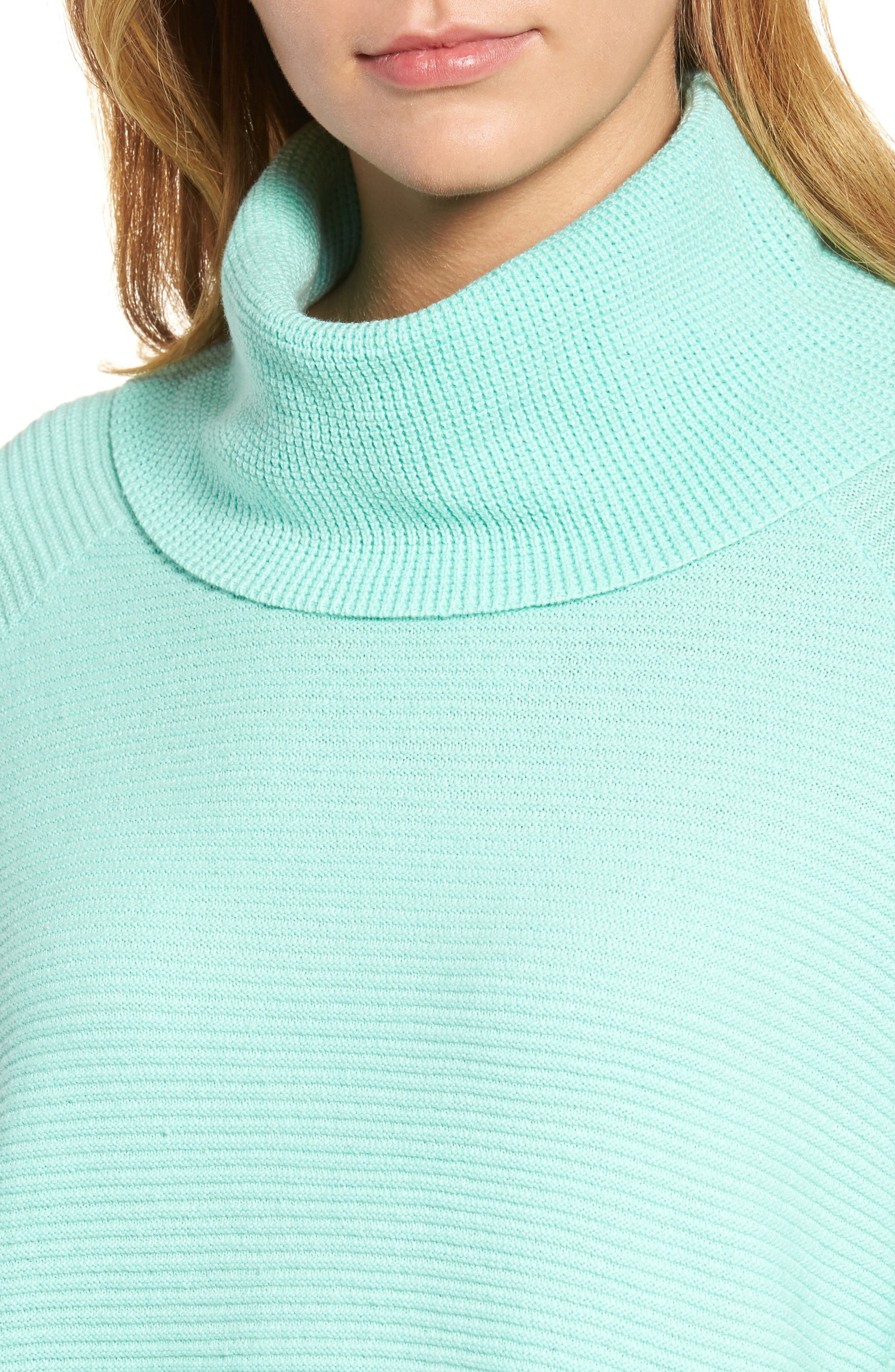 Cowl Neck Shirttail Hem Sweater,                             Alternate thumbnail 4, color,                             336