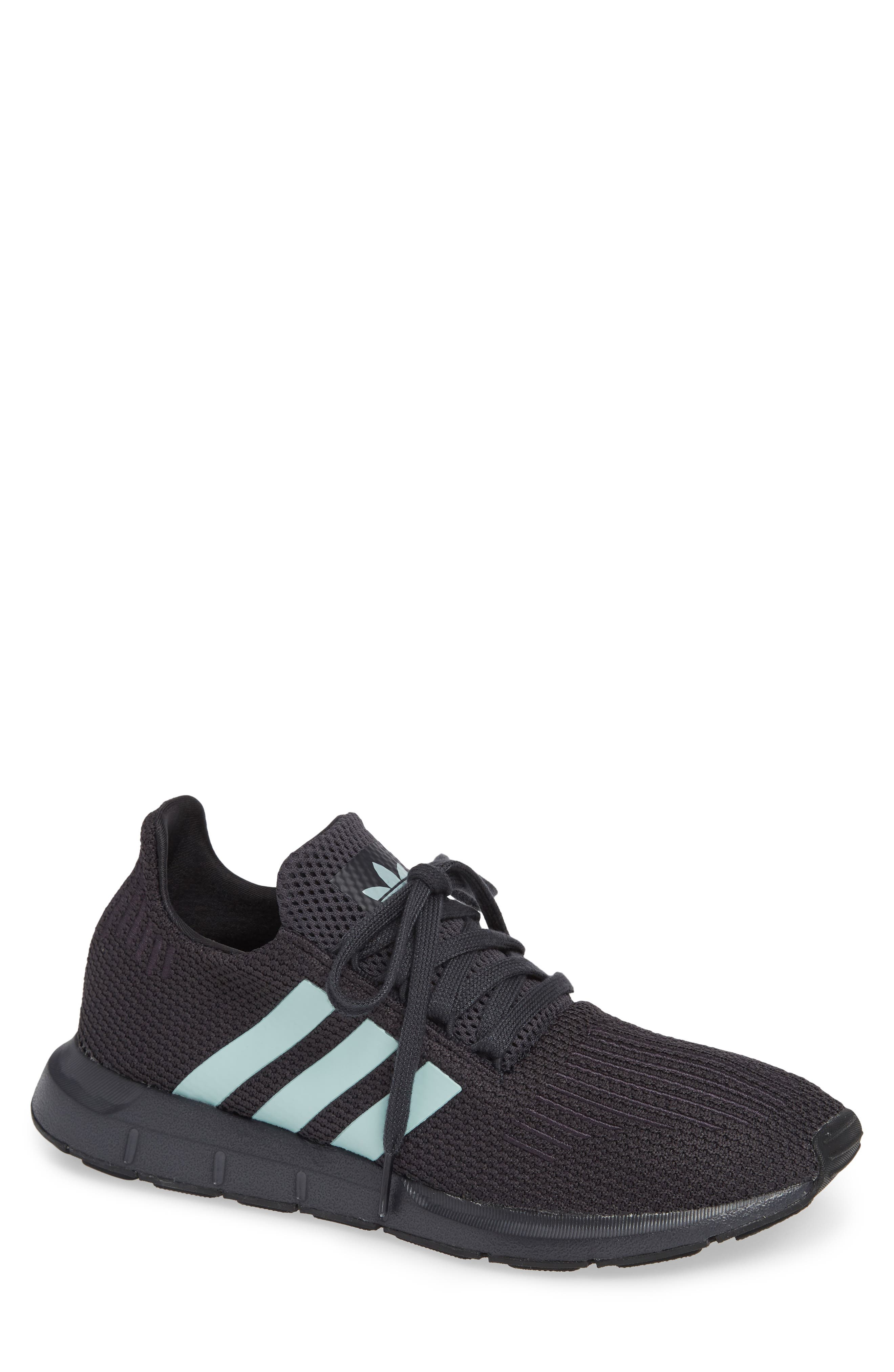 Swift Run Running Shoe,                             Main thumbnail 1, color,                             GREY/ GREEN/ BLACK