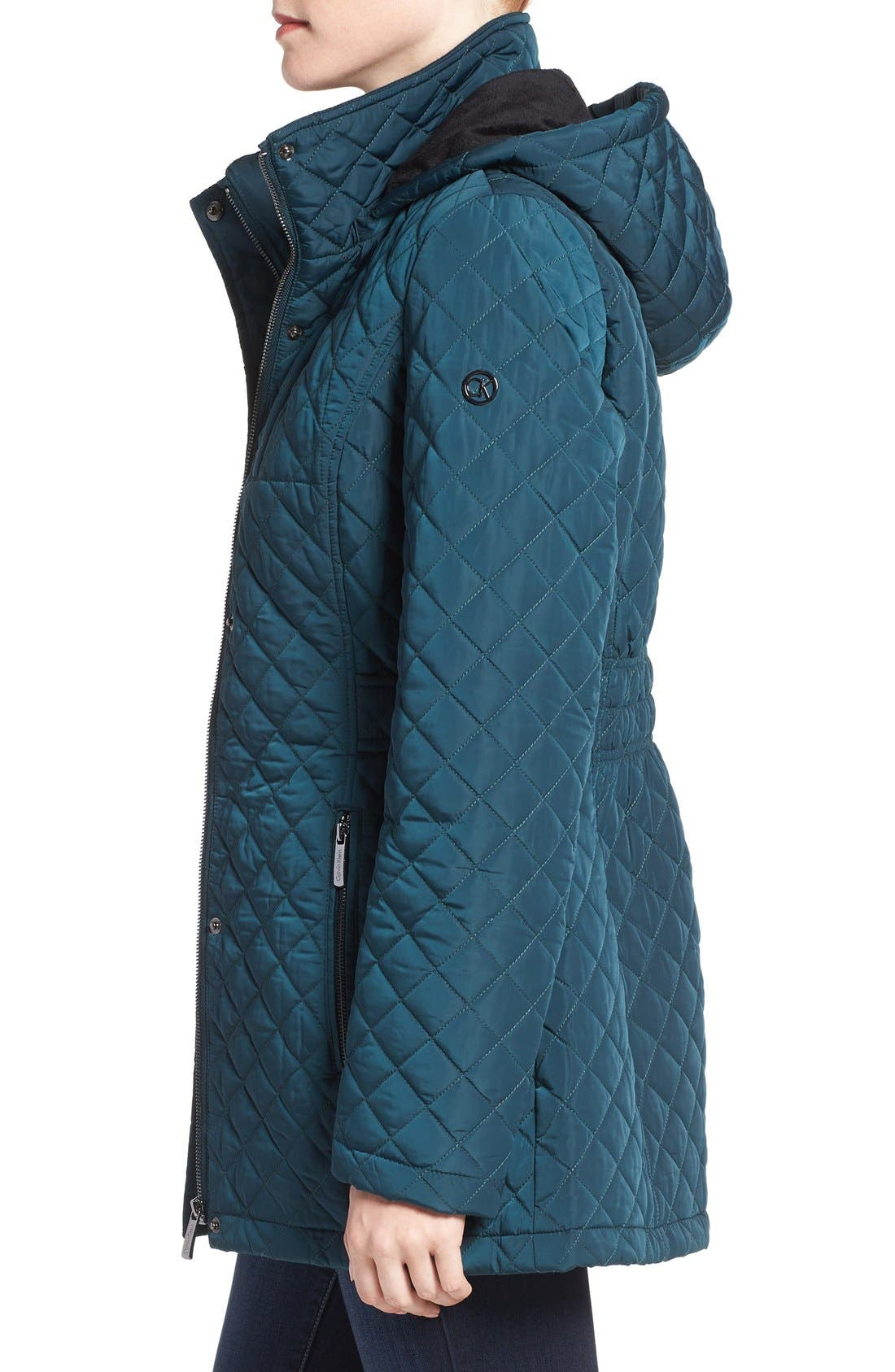 Hooded Quilted Jacket,                             Alternate thumbnail 29, color,
