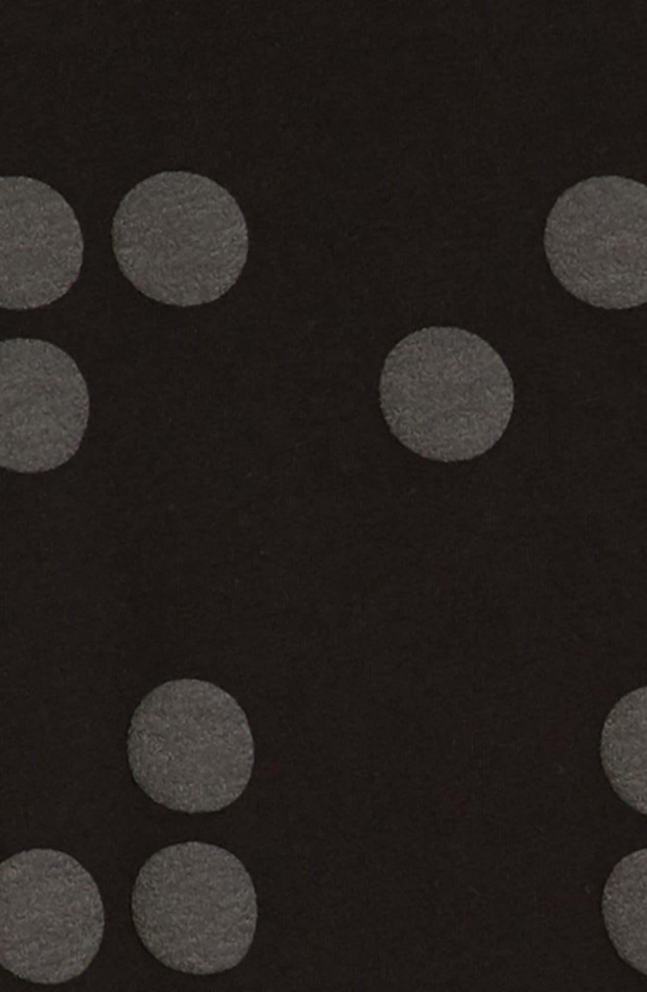 Braille A-Line Dress,                             Alternate thumbnail 3, color,                             001