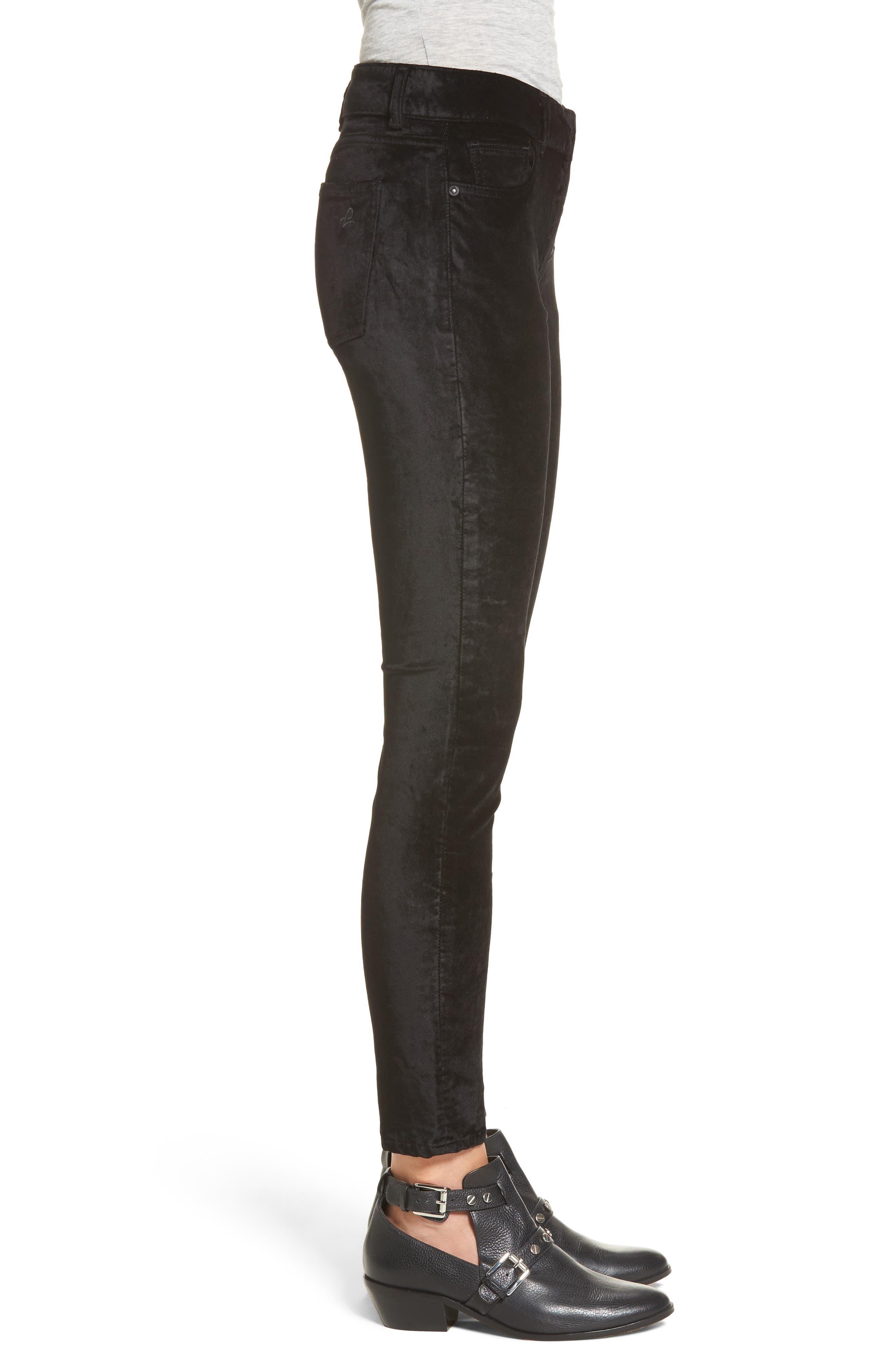 Emma Power Legging Jeans,                             Alternate thumbnail 3, color,                             001