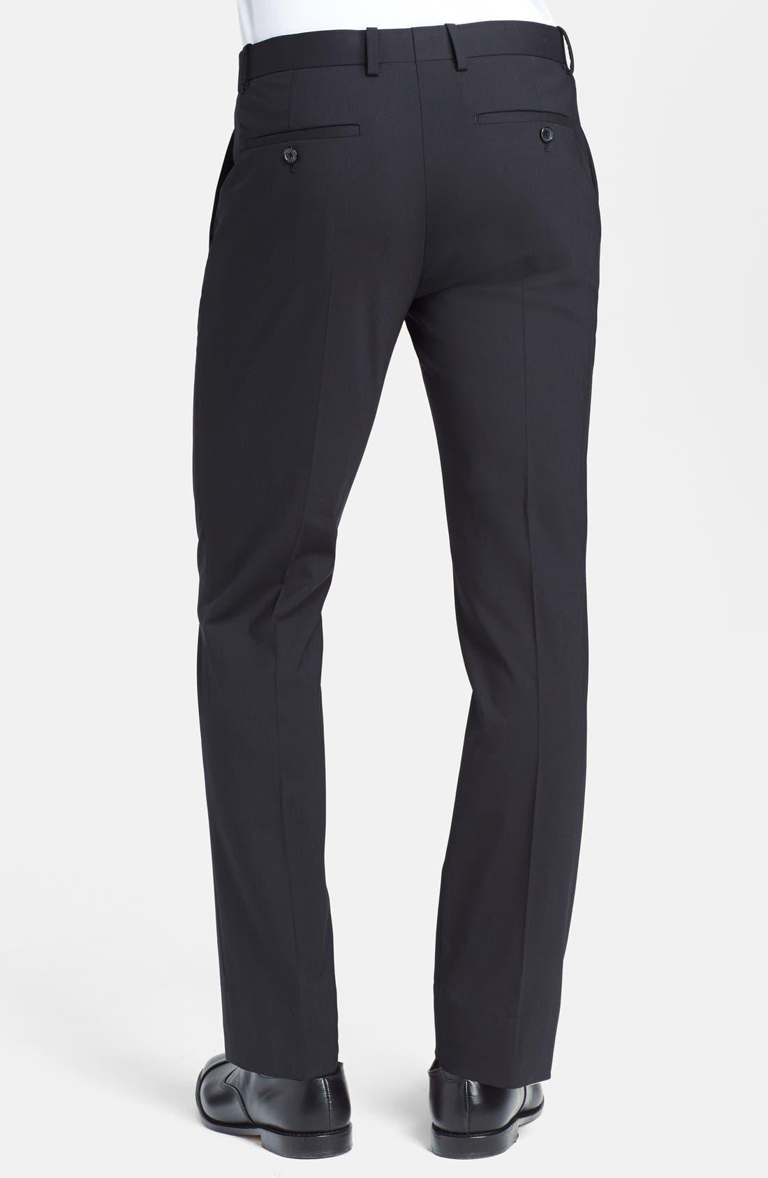 'Marlo New Tailor' Slim Fit Pants,                             Alternate thumbnail 18, color,