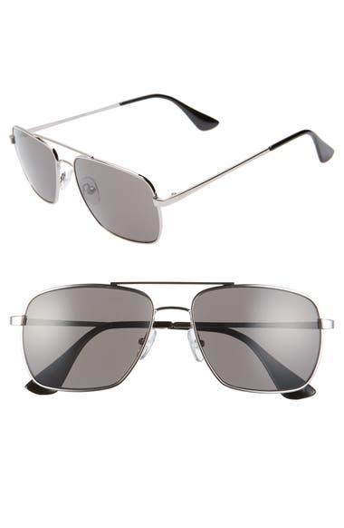 65adb4fd9a0 1901 Taylor 58mm Aviator Sunglasses