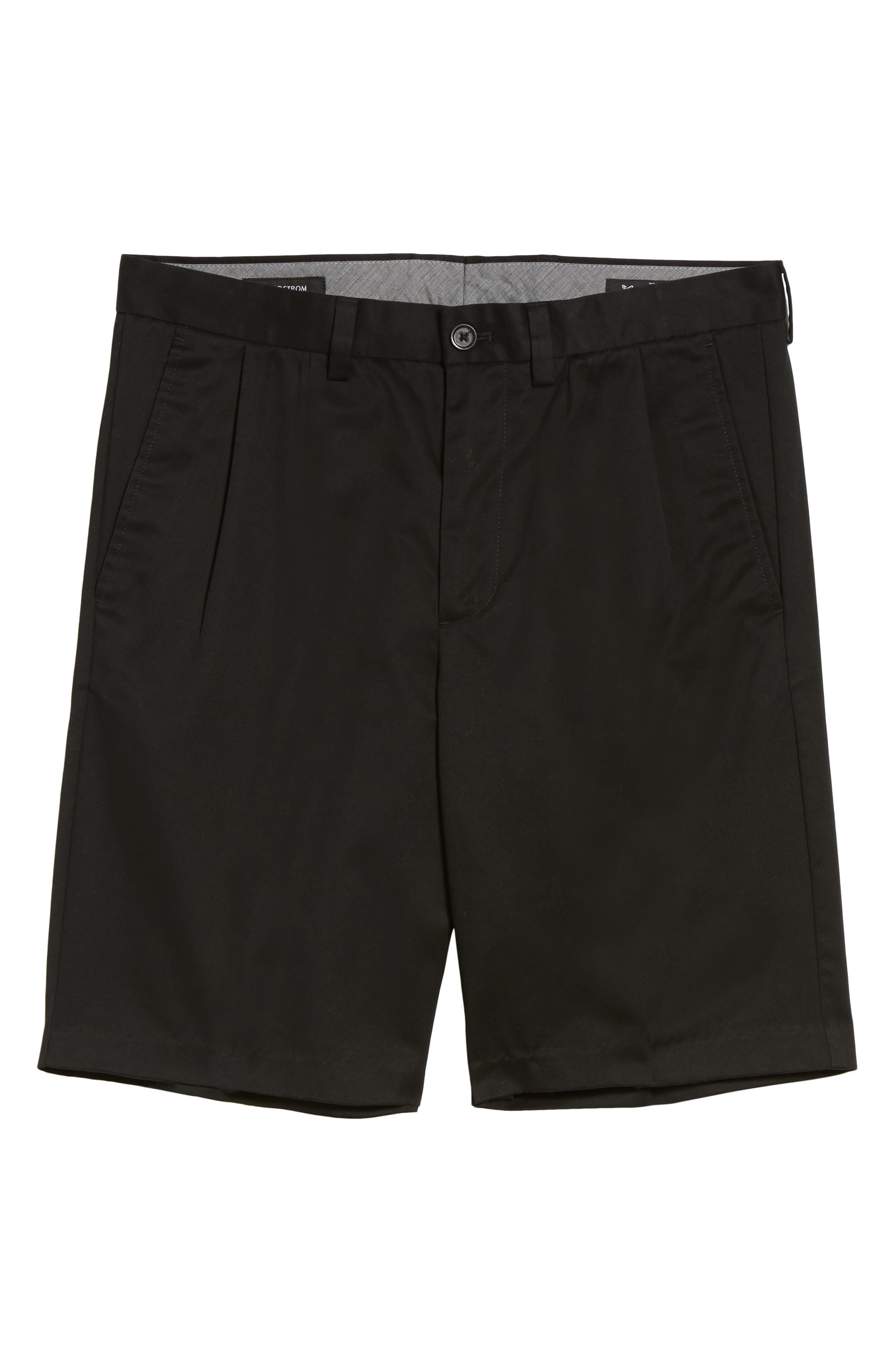 Smartcare<sup>™</sup> Pleated Shorts,                             Alternate thumbnail 2, color,                             BLACK