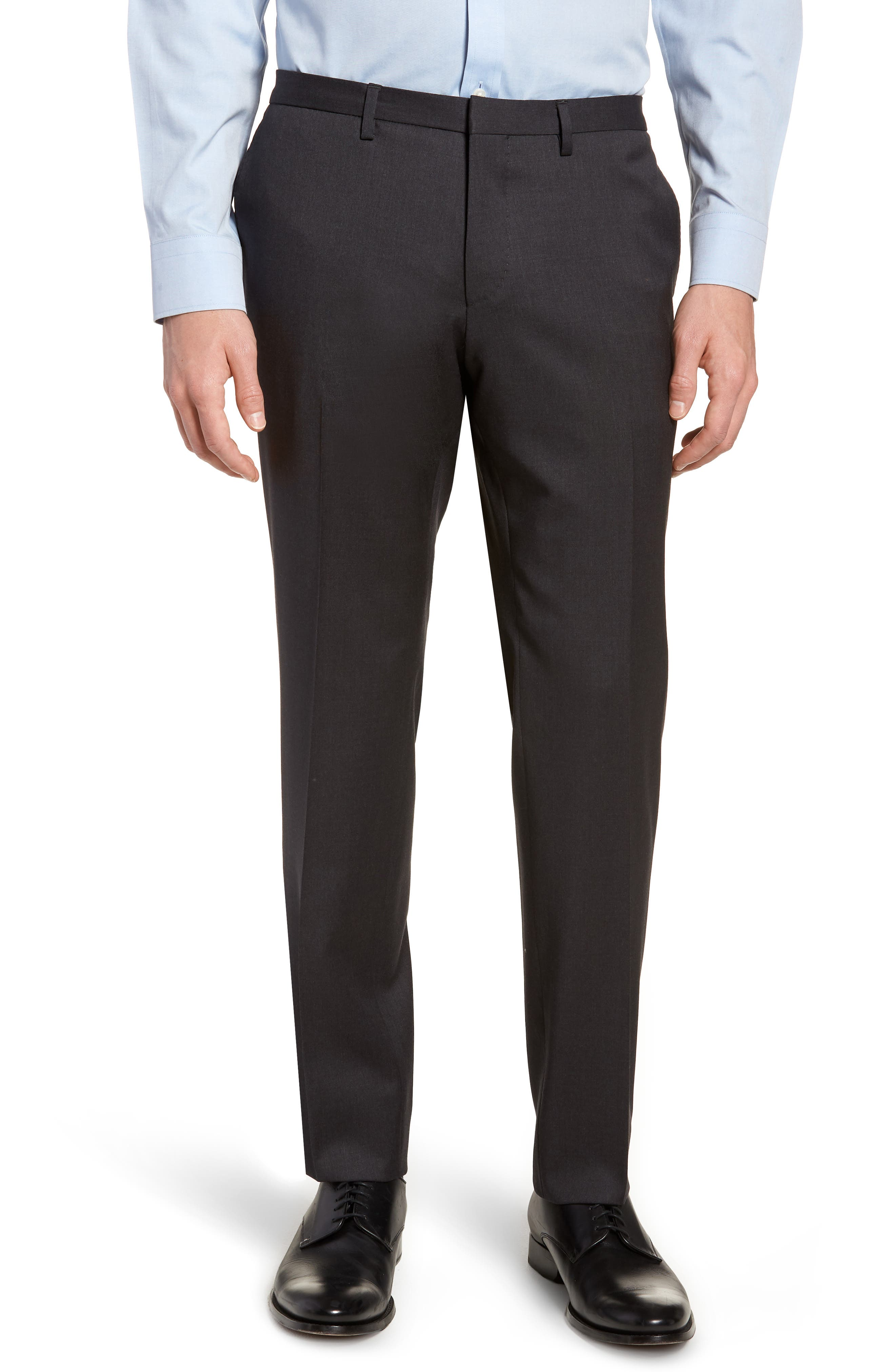'Ryan/Win' Extra Trim Fit Solid Wool Suit,                             Alternate thumbnail 8, color,                             021