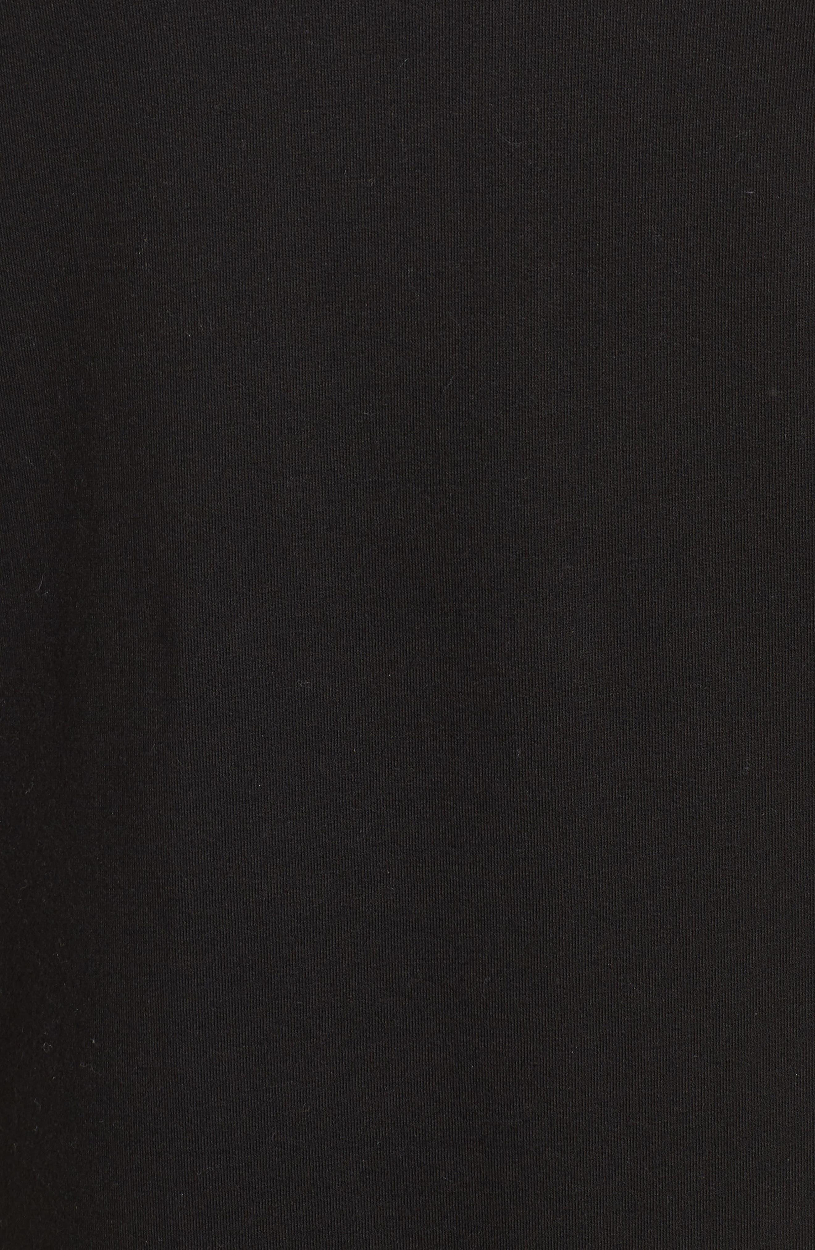 Off-Duty Funnel Neck Sweatshirt,                             Alternate thumbnail 5, color,                             001
