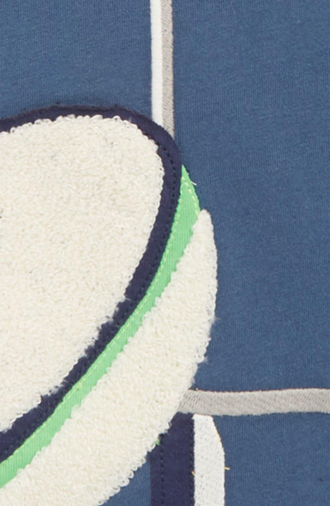 Sports Appliqué T-Shirt,                             Alternate thumbnail 2, color,                             ROBOT BLUE