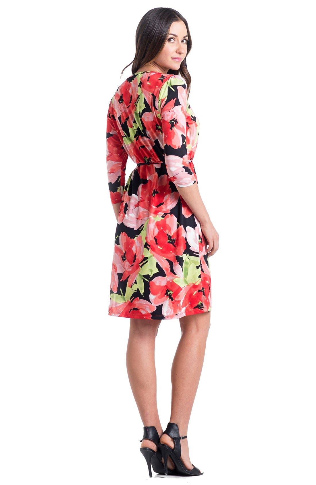 Print Maternity Dress,                             Alternate thumbnail 2, color,                             960