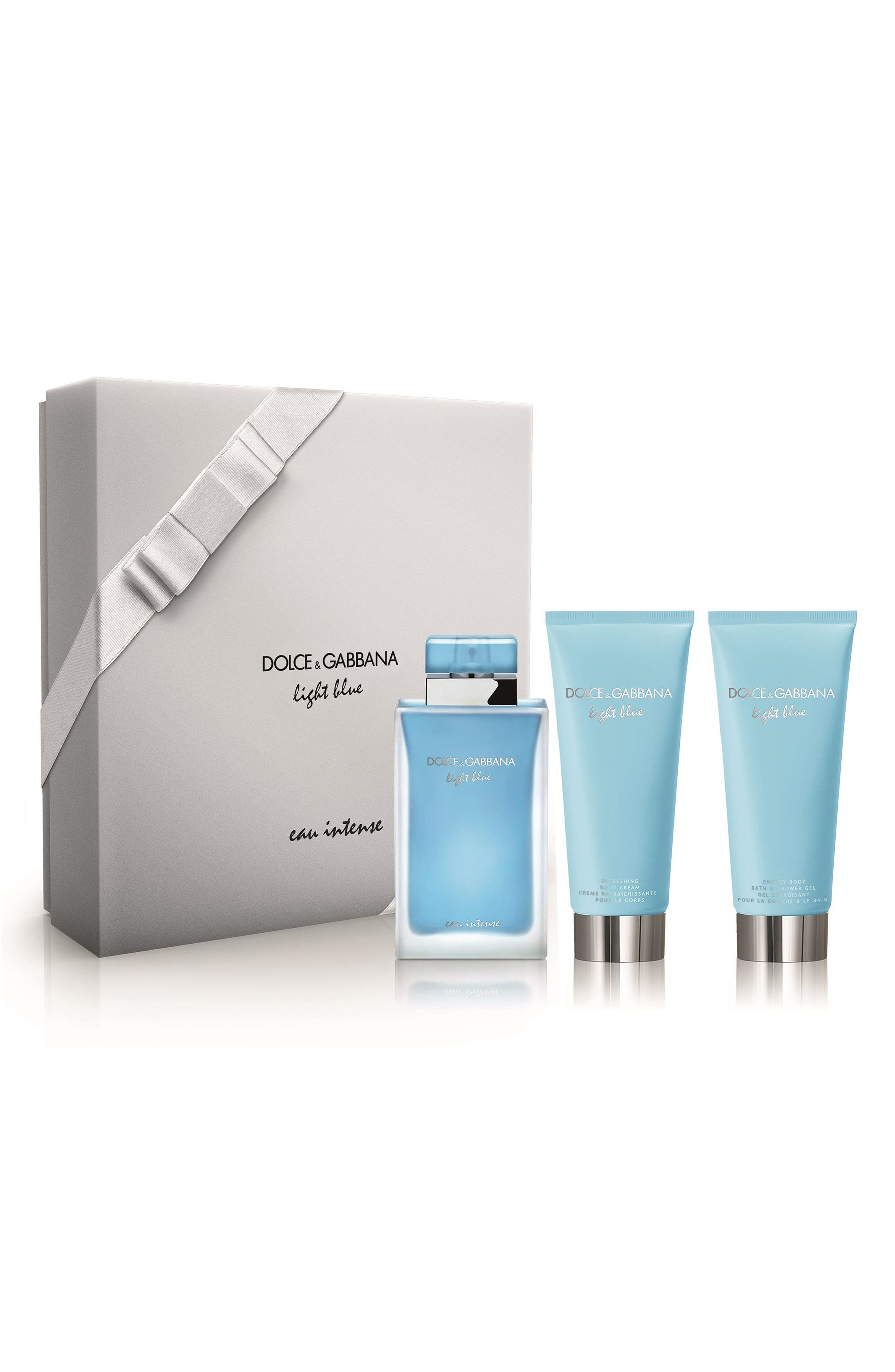 Dolce&Gabbana Light Blue Eau Intense Set,                             Main thumbnail 1, color,                             000