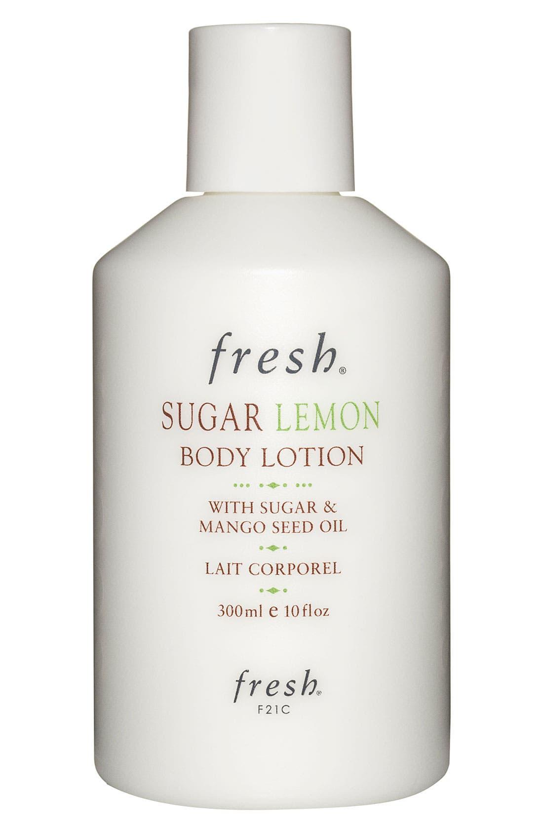 Sugar Lemon Body Lotion,                             Main thumbnail 1, color,                             NO COLOR