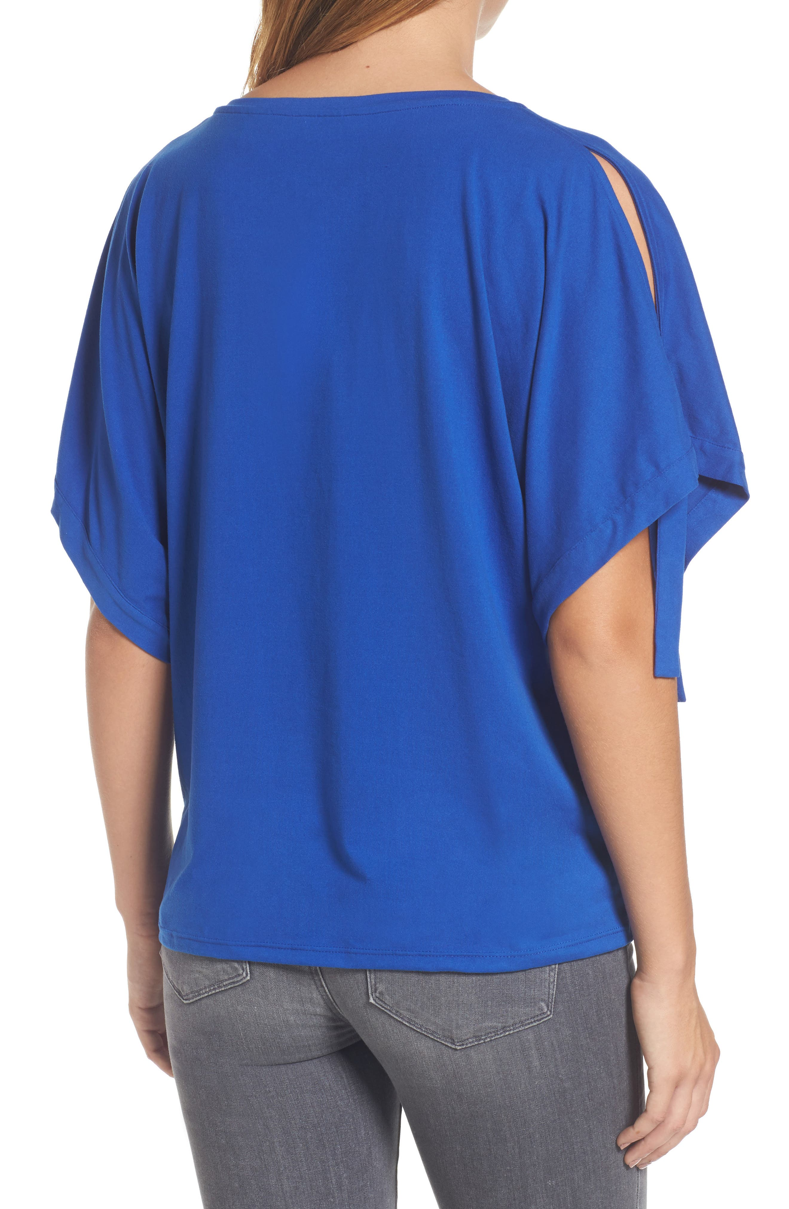 Stretch Knit Top,                             Alternate thumbnail 2, color,                             421