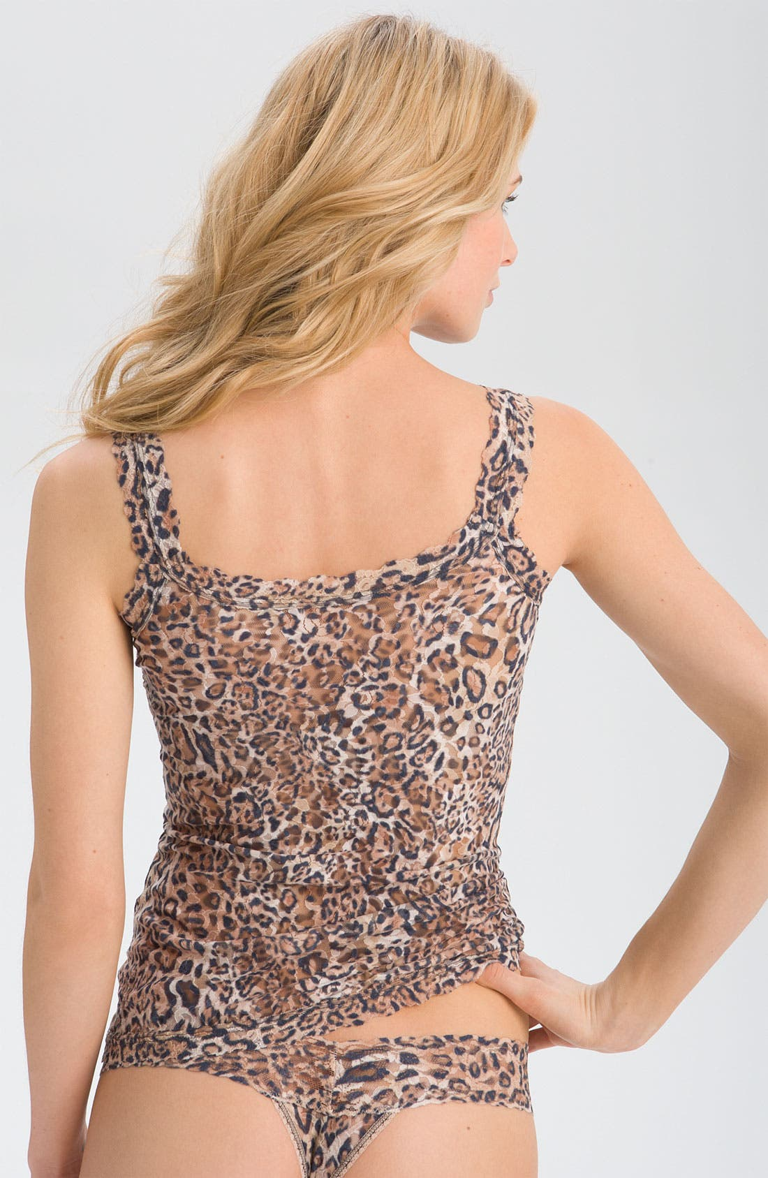 'Leopard' Lace Camisole,                             Alternate thumbnail 3, color,                             200