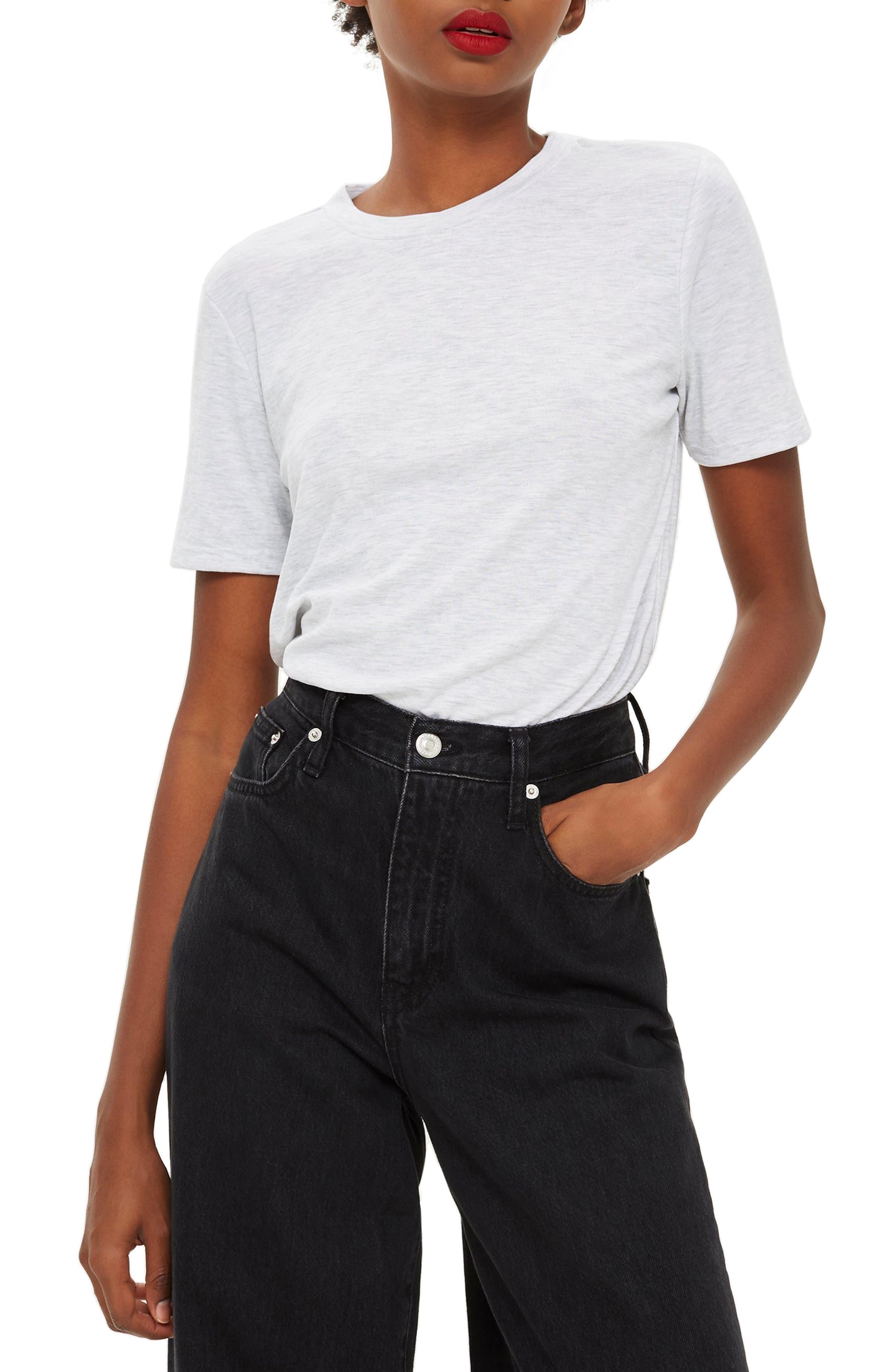 Premium Clean T-Shirt,                             Main thumbnail 1, color,                             GREY