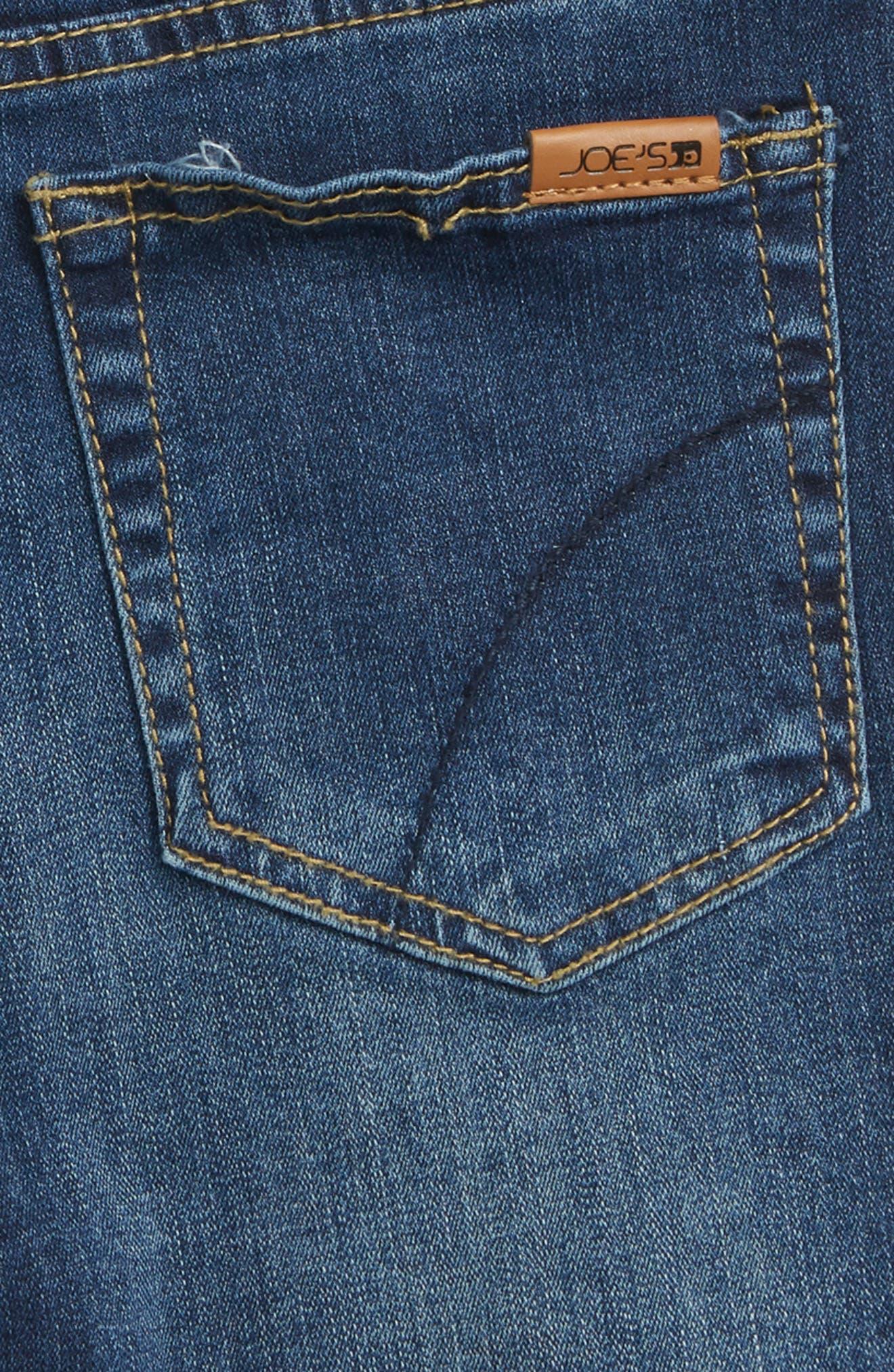 Charlie High Waist Cutoff Shorts,                             Alternate thumbnail 3, color,                             401