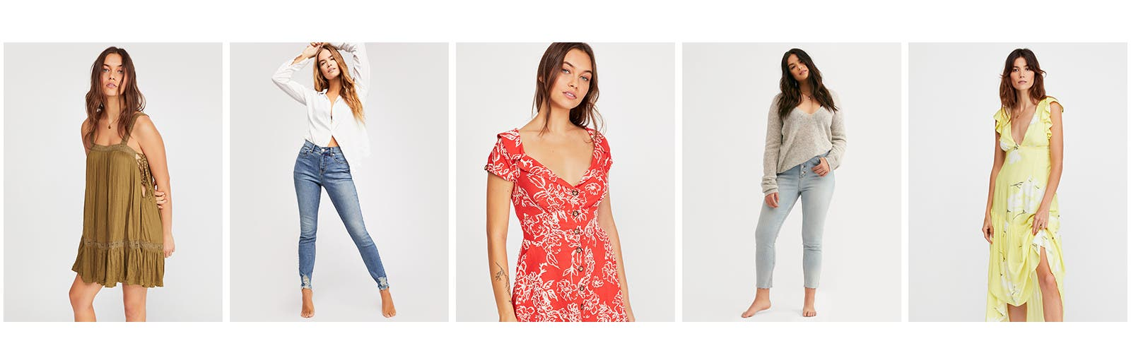Spring fever: new Free People arrivals in full bloom.