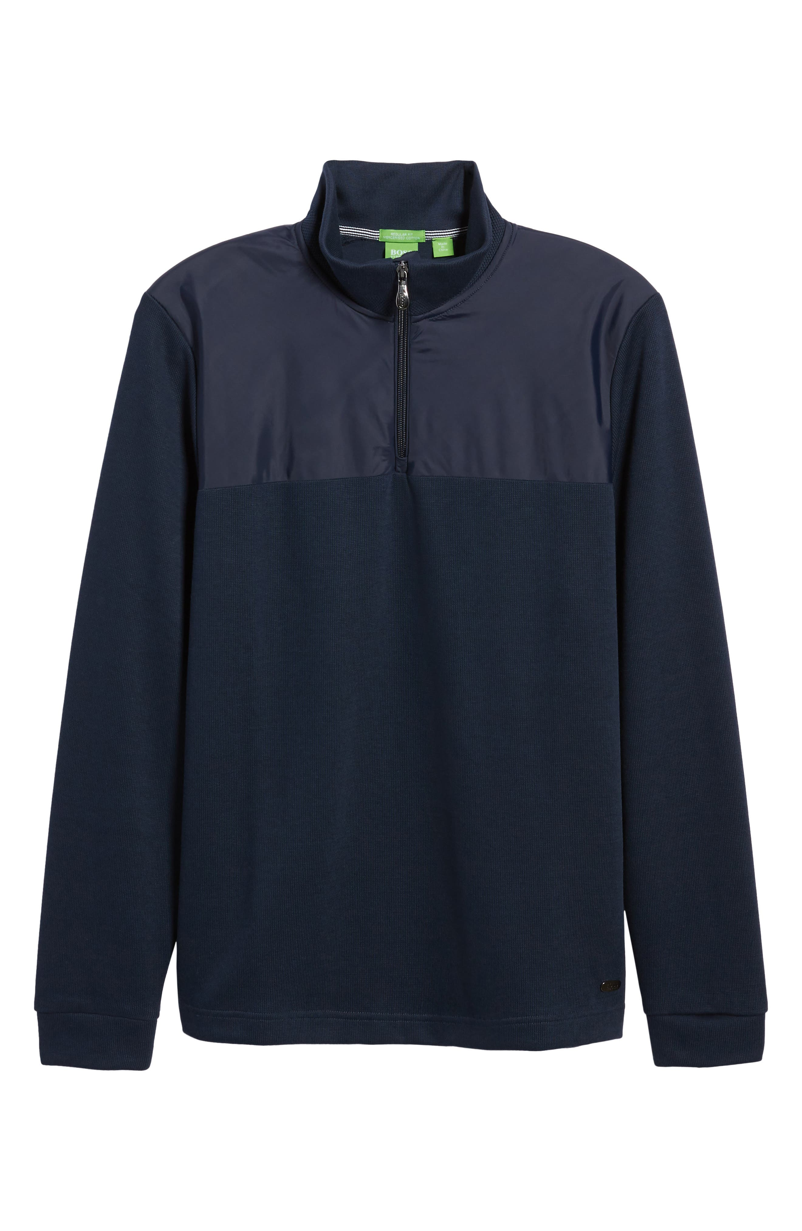 C-Piceno Quarter Zip Fleece Pullover,                             Alternate thumbnail 18, color,