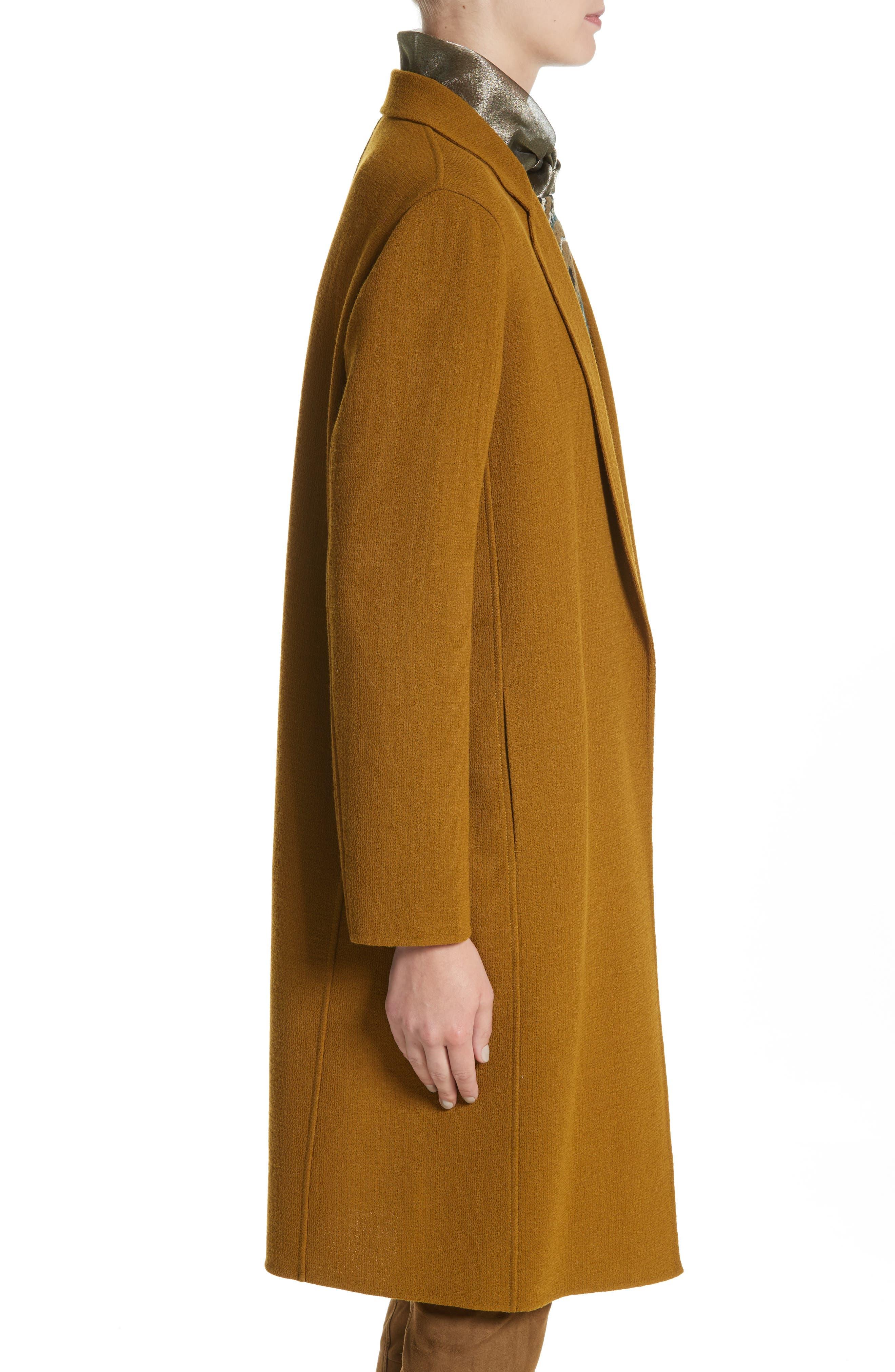 Jolina Nouveau Crepe Jacket,                             Alternate thumbnail 3, color,                             358