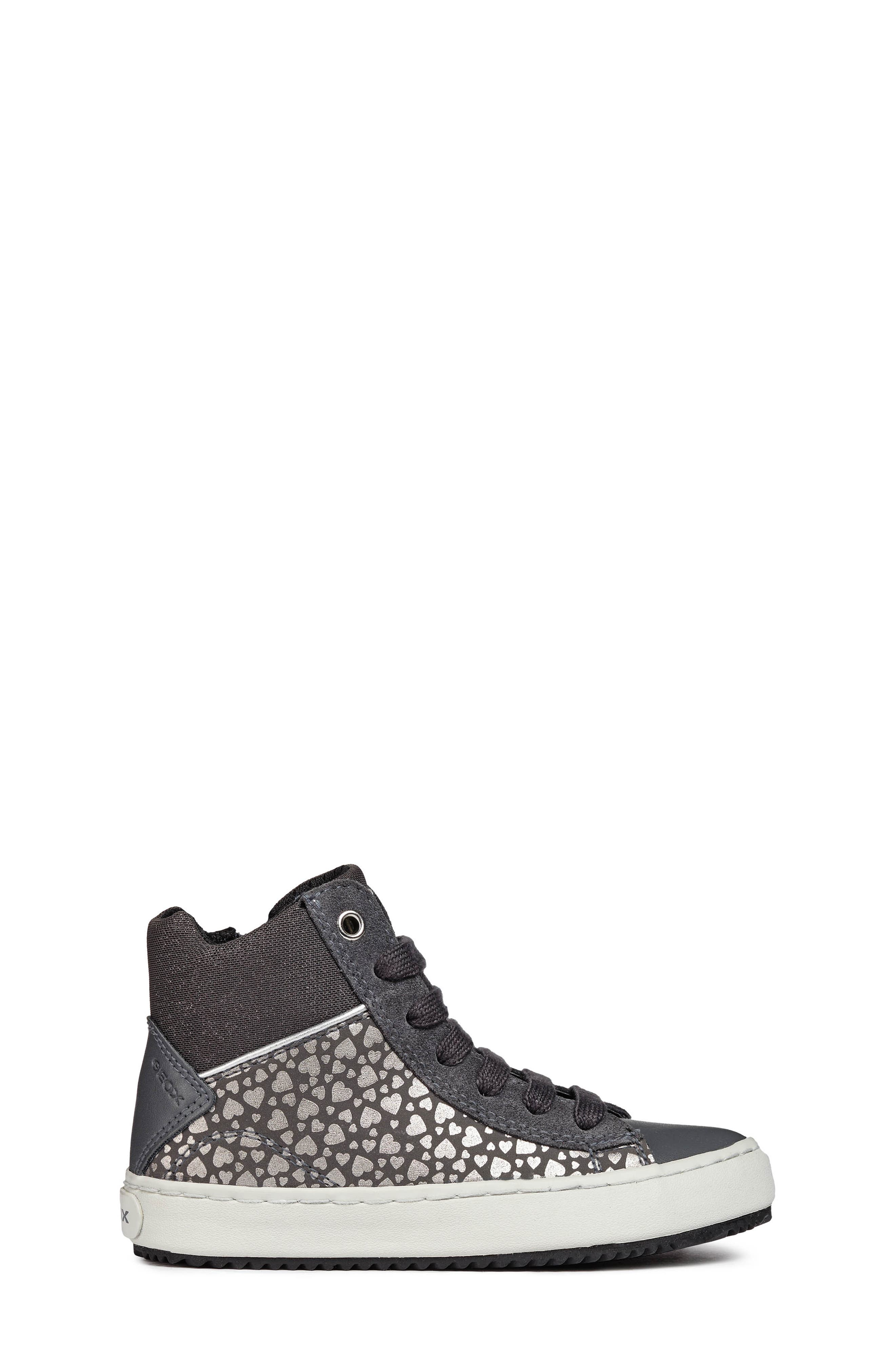Kalispera High Top Sneaker,                             Alternate thumbnail 3, color,                             DARK GREY