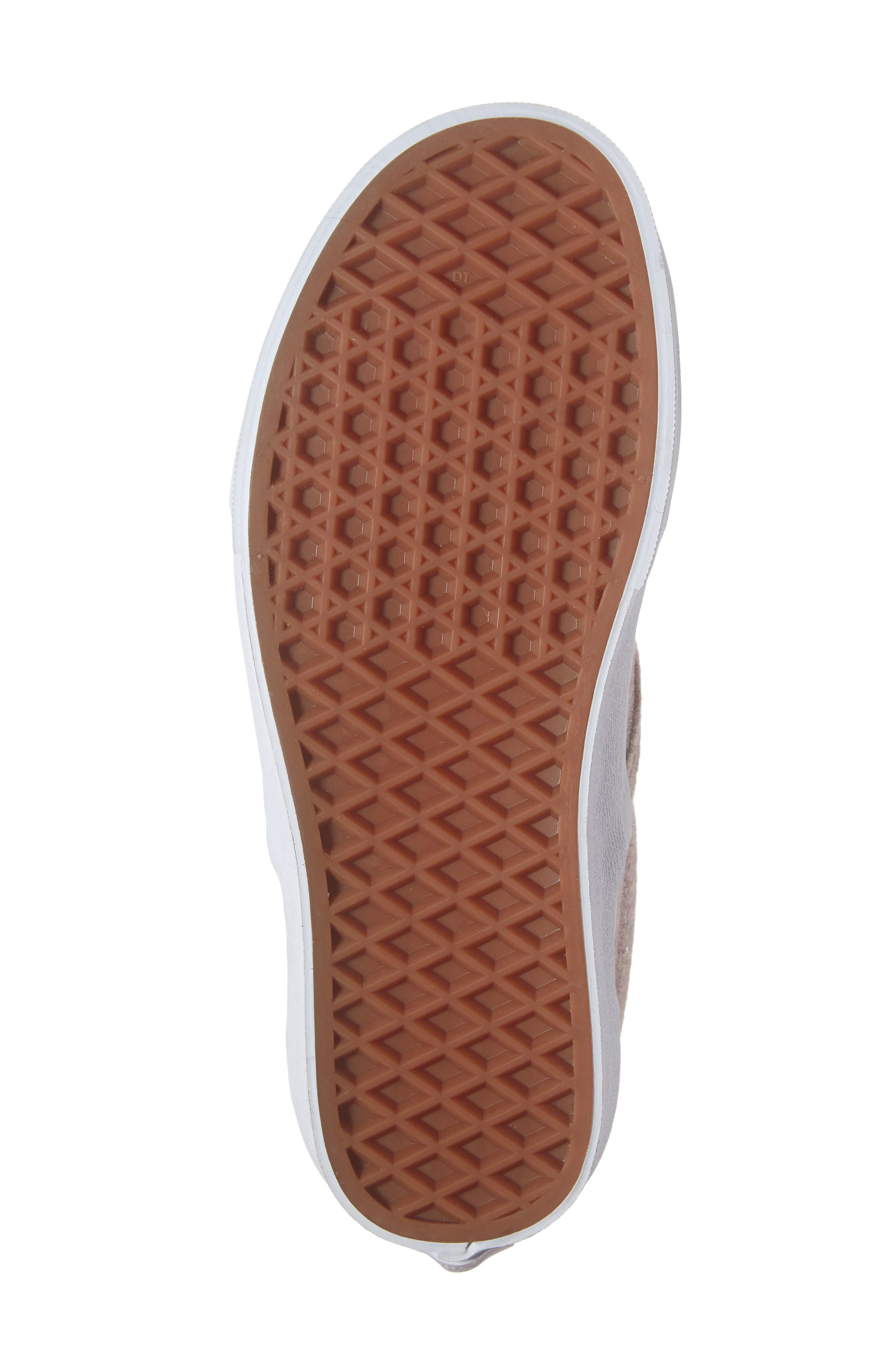 Classic Slip-On Sneaker,                             Alternate thumbnail 6, color,                             VIOLET ICE/ TRUE WHITE