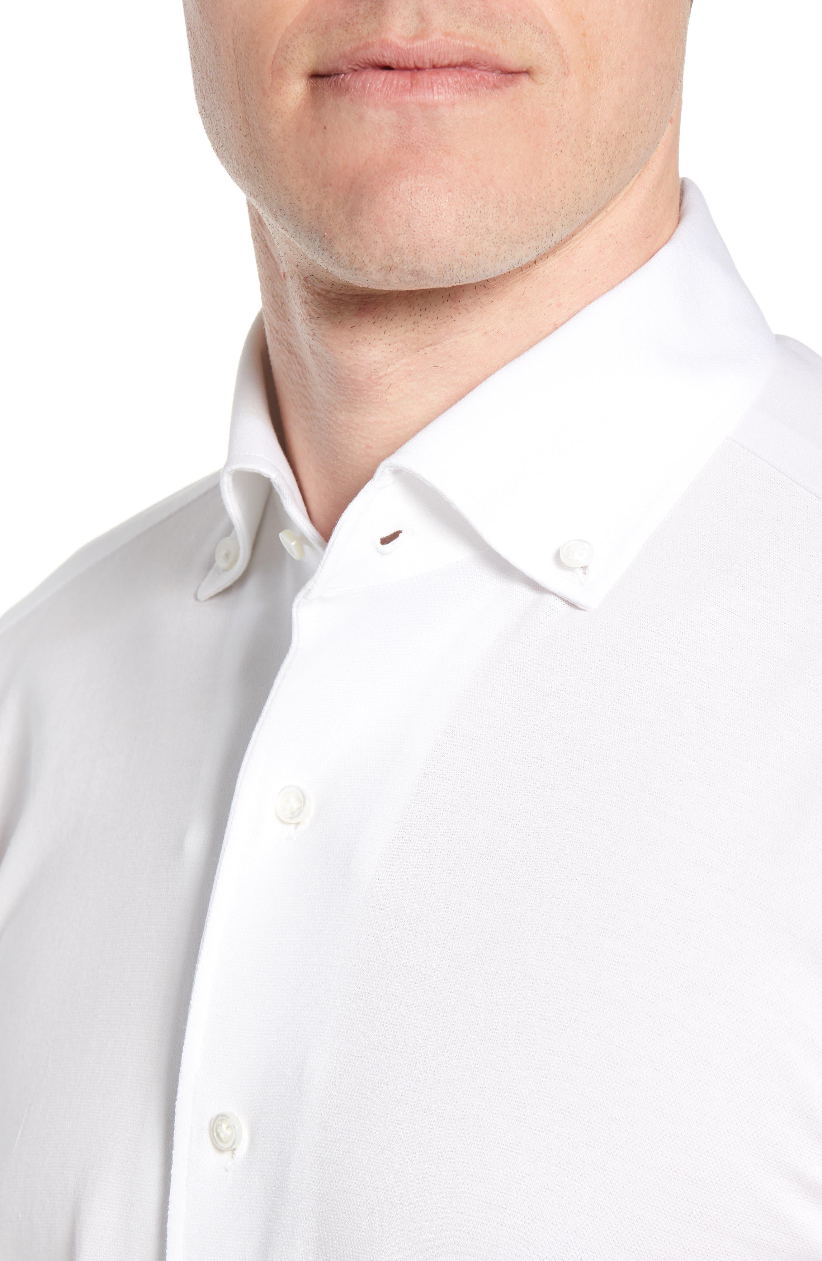Summer Mesh Jersey Sport Shirt,                             Alternate thumbnail 4, color,                             100