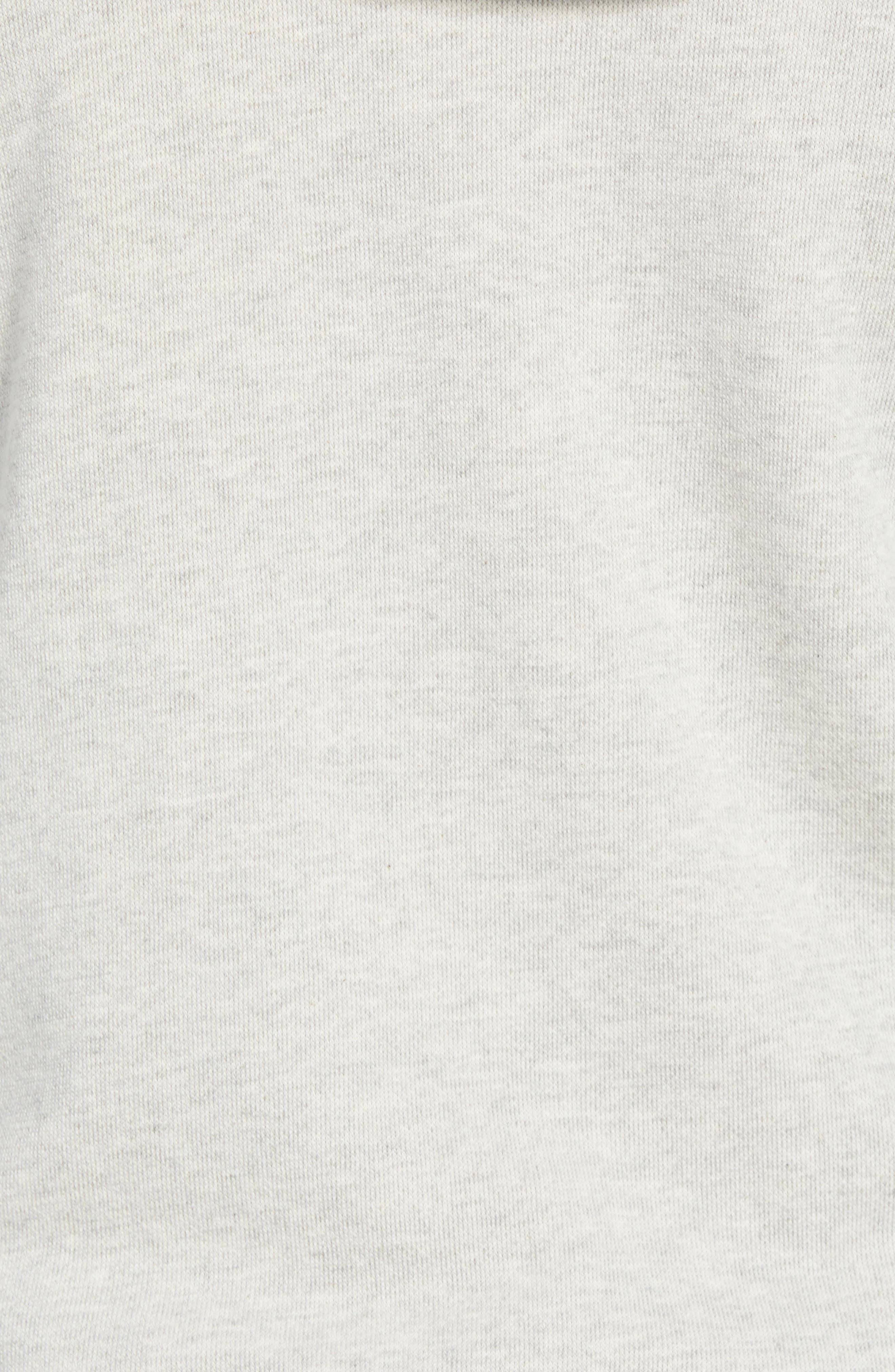 BILLY REID,                             Panelled Fleece Zip Hoodie,                             Alternate thumbnail 5, color,                             032