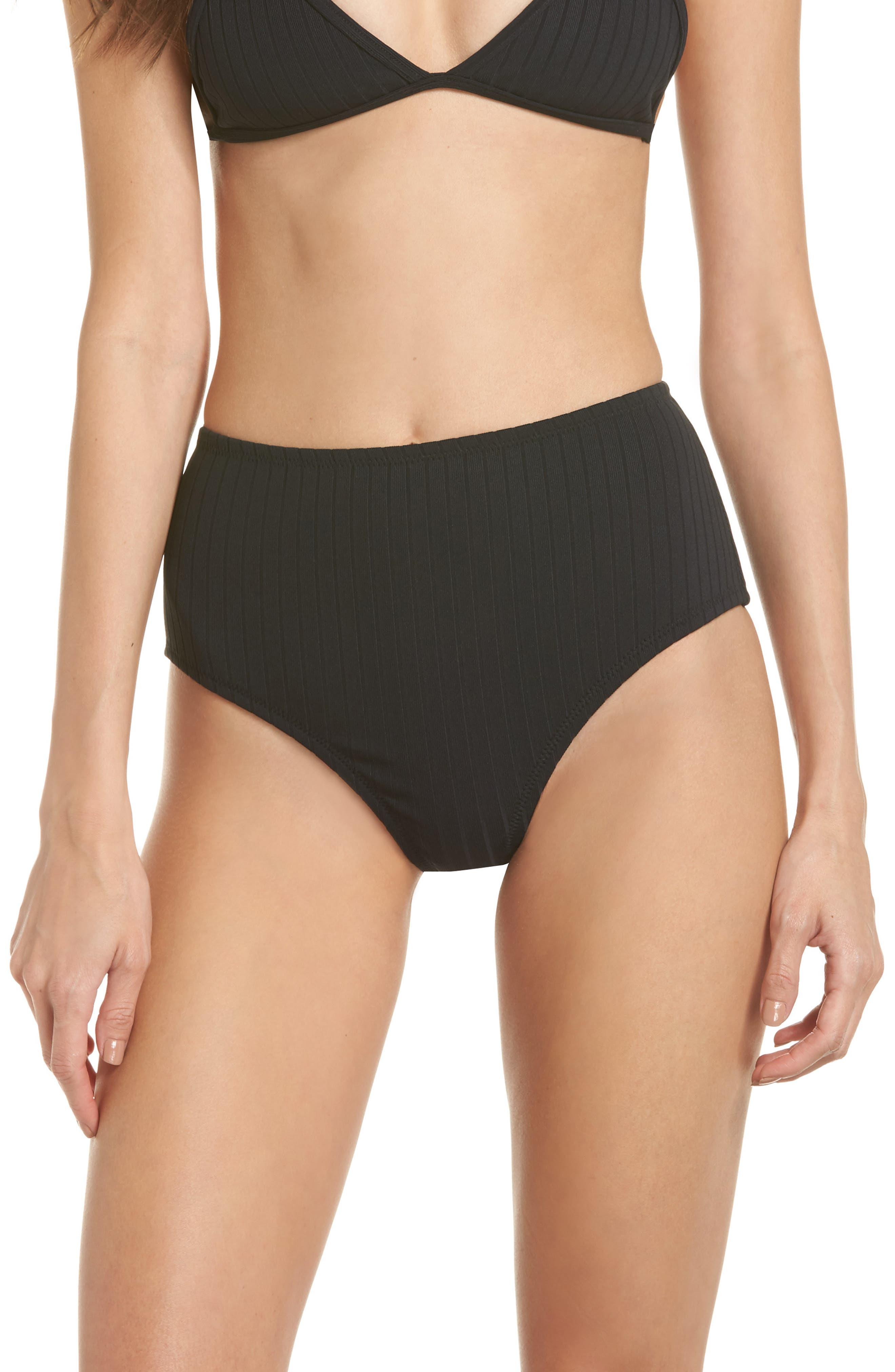 Westwood High Waist Bikini Bottoms,                         Main,                         color, 001