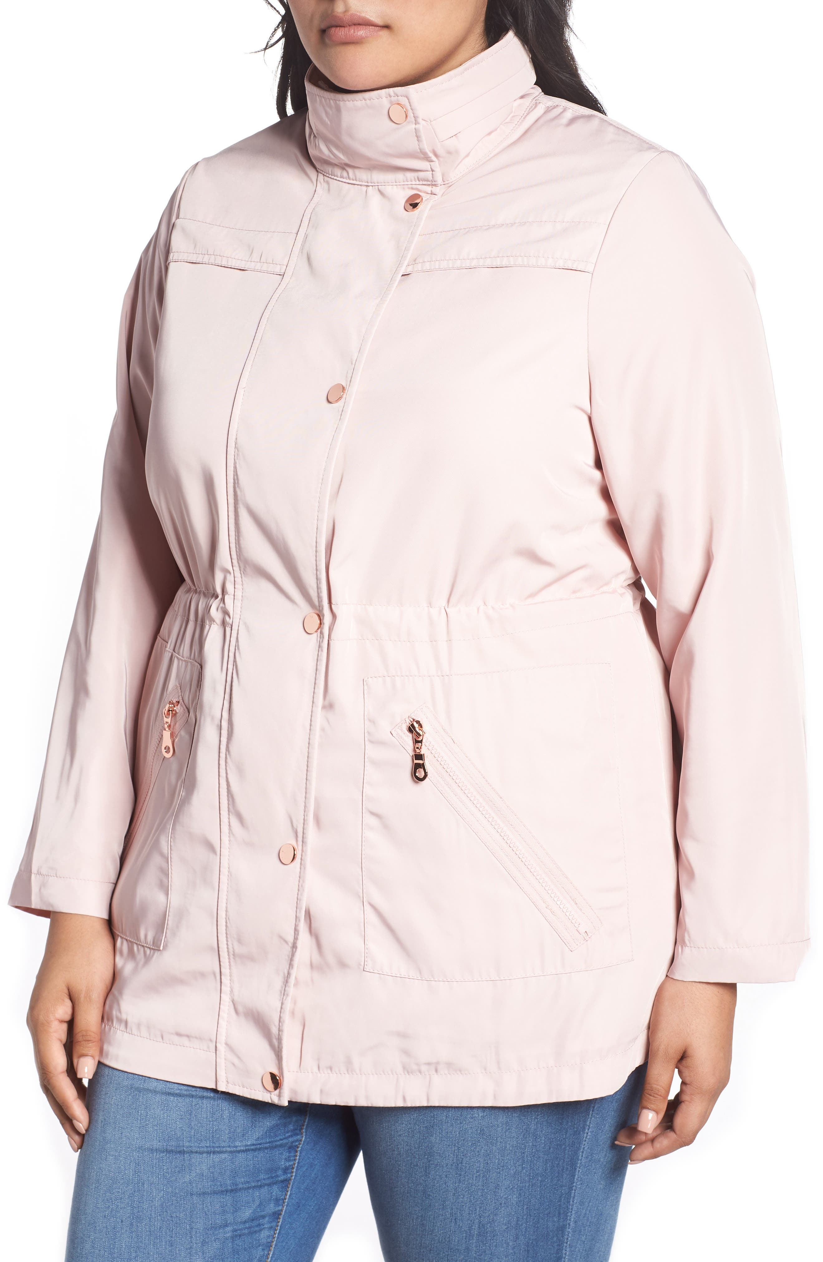 Zip Trim Jacket,                             Alternate thumbnail 4, color,