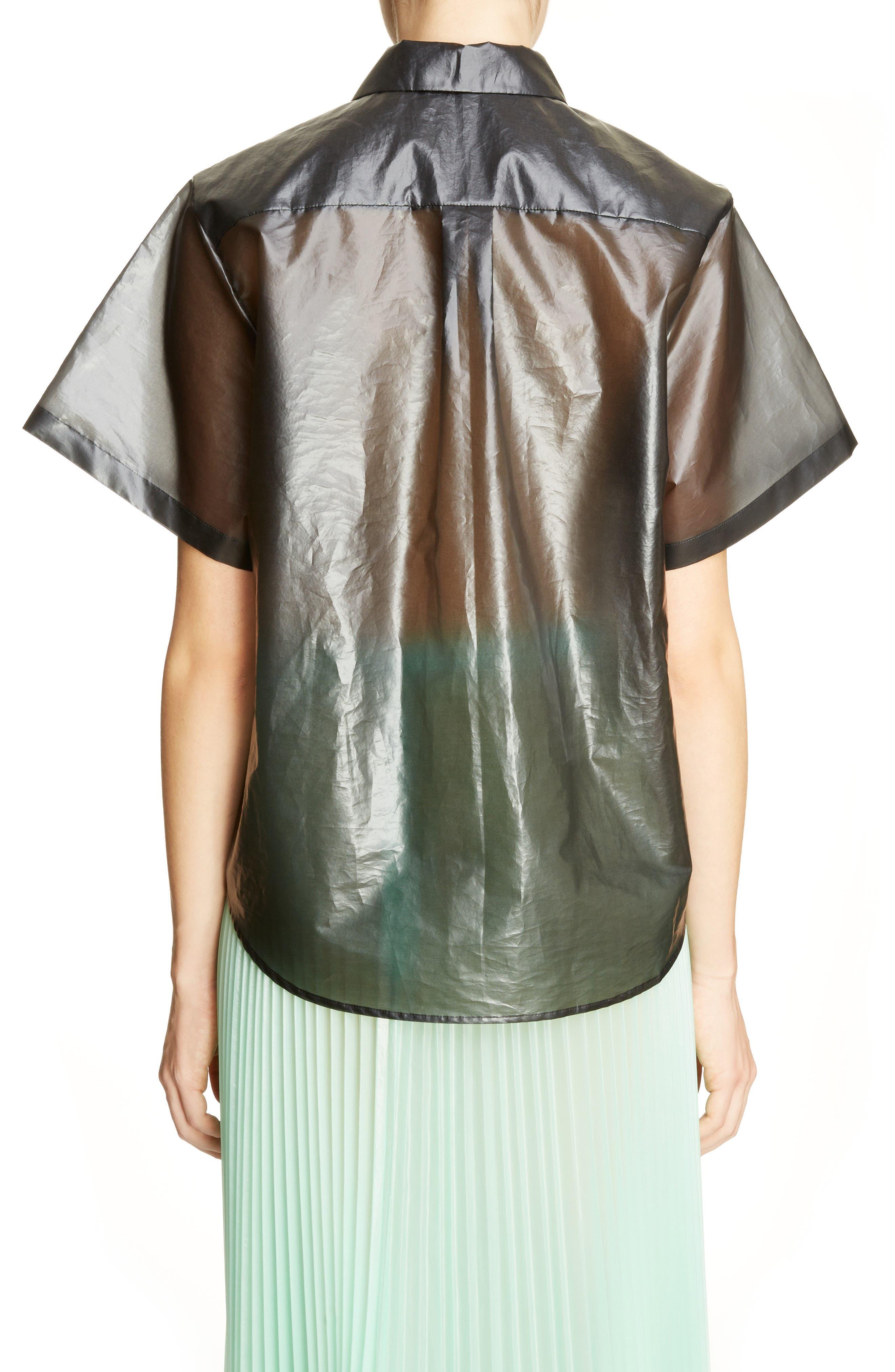 Transparent Blouse,                         Main,                         color,